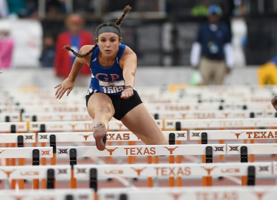 Images from UIL State Track and Field meet, Friday, May 10, 2019, in Austin.