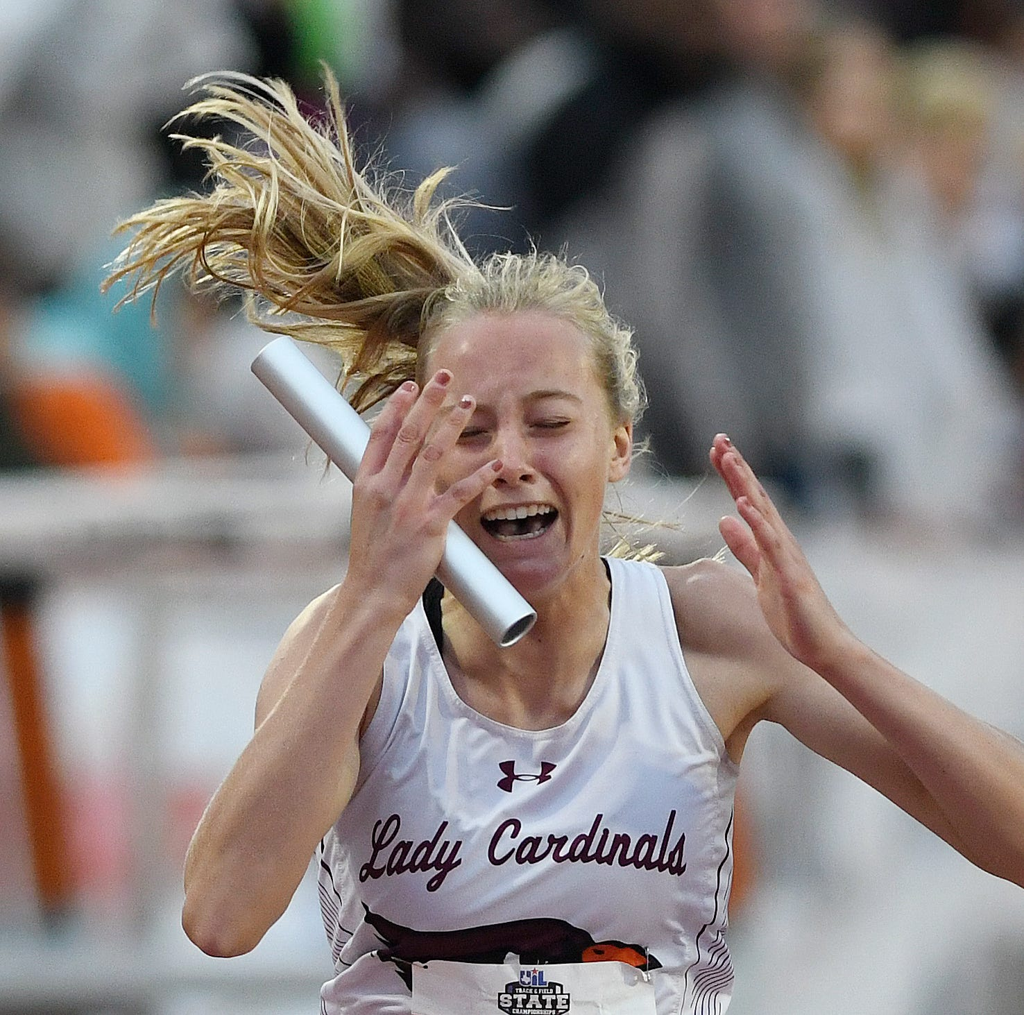 Lingleville 'sisterhood' earns three relay medals at state track meet