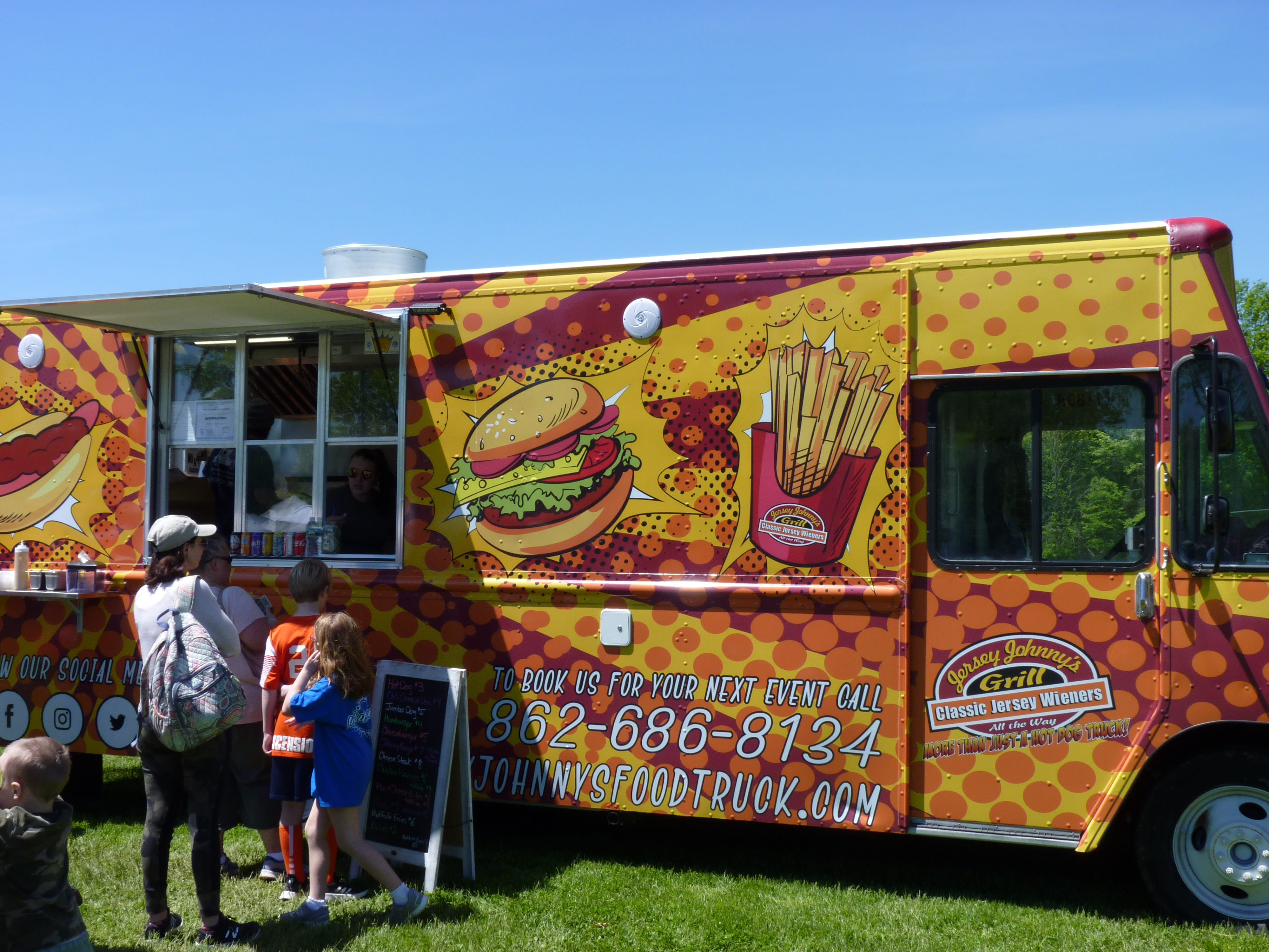 Several hundred people came out to White Oak Park in Branchburg on Saturday, May 11 to enjoy live music, Mother's Day sales and food from dozens of food trucks for the Food Truck and Music Festival organized by Just Jersey Fest. N