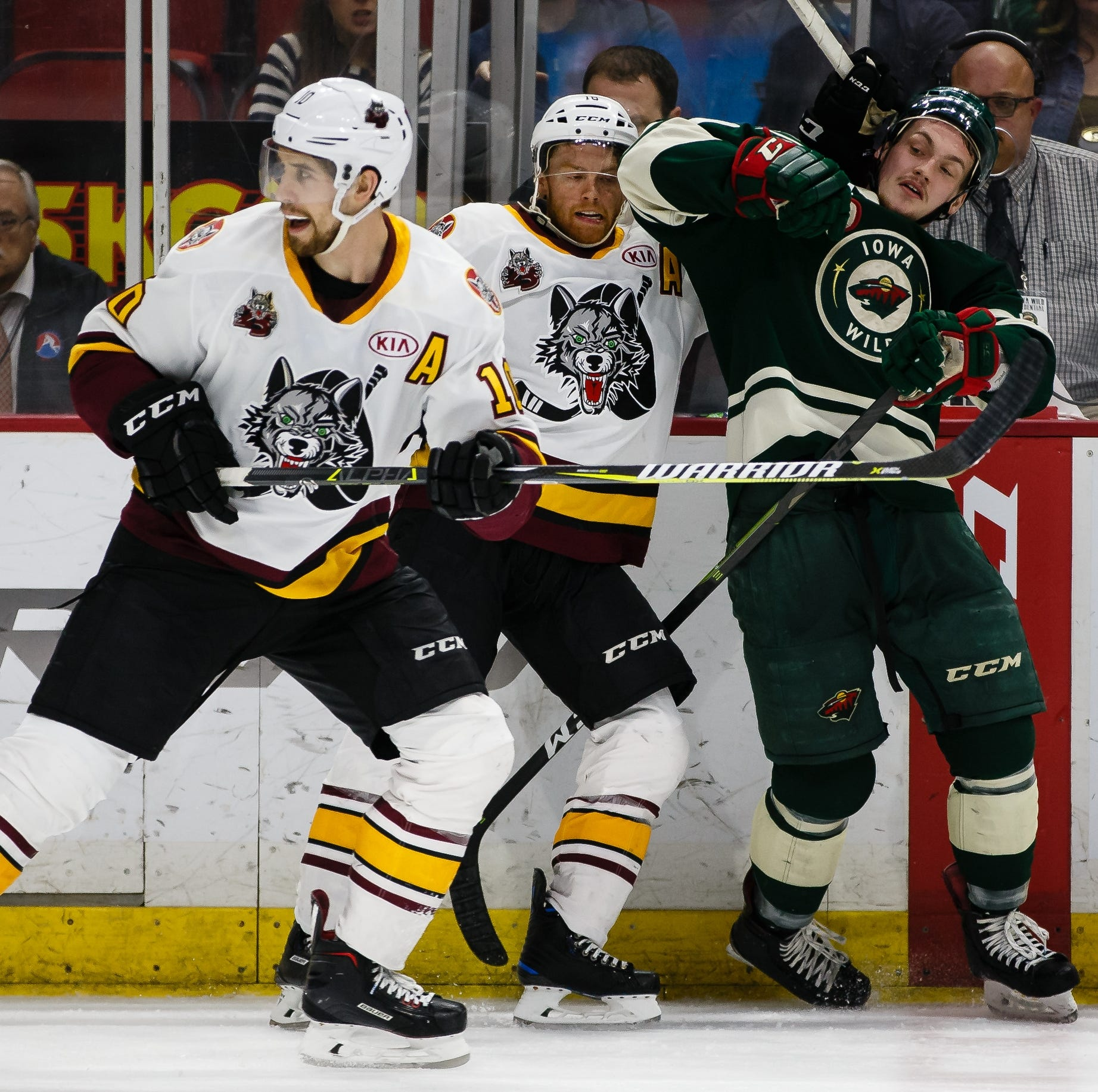 Chicago controls Iowa Wild in crucial Game 5, now controls fate of AHL playoff series