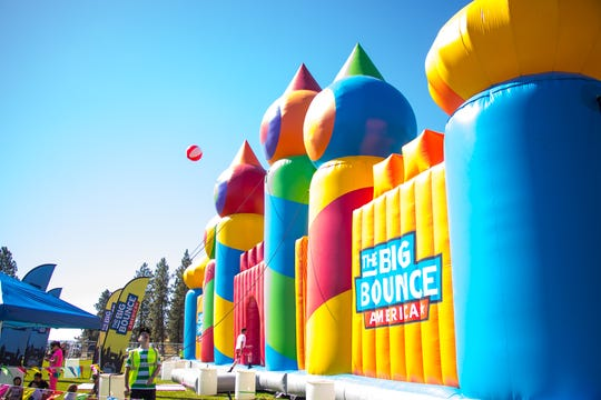 Big Bounce America is bringing the world's largest bounce house to Detroit and Grand Rapids this summer.