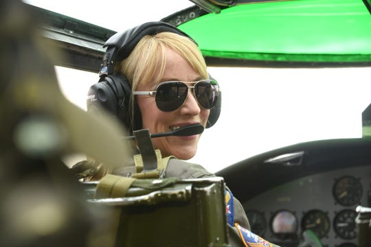"""Riding this, you can feel the forces against your body, the design, engineering and true workmanship that went into these flight controls,"" pilot Delane Buttacavoli said."