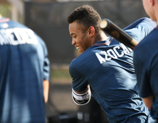 Tigers outfielder prospect Jose Azocar entered Sunday hitting .336 for Double-A Erie, ranking third in the Eastern League.