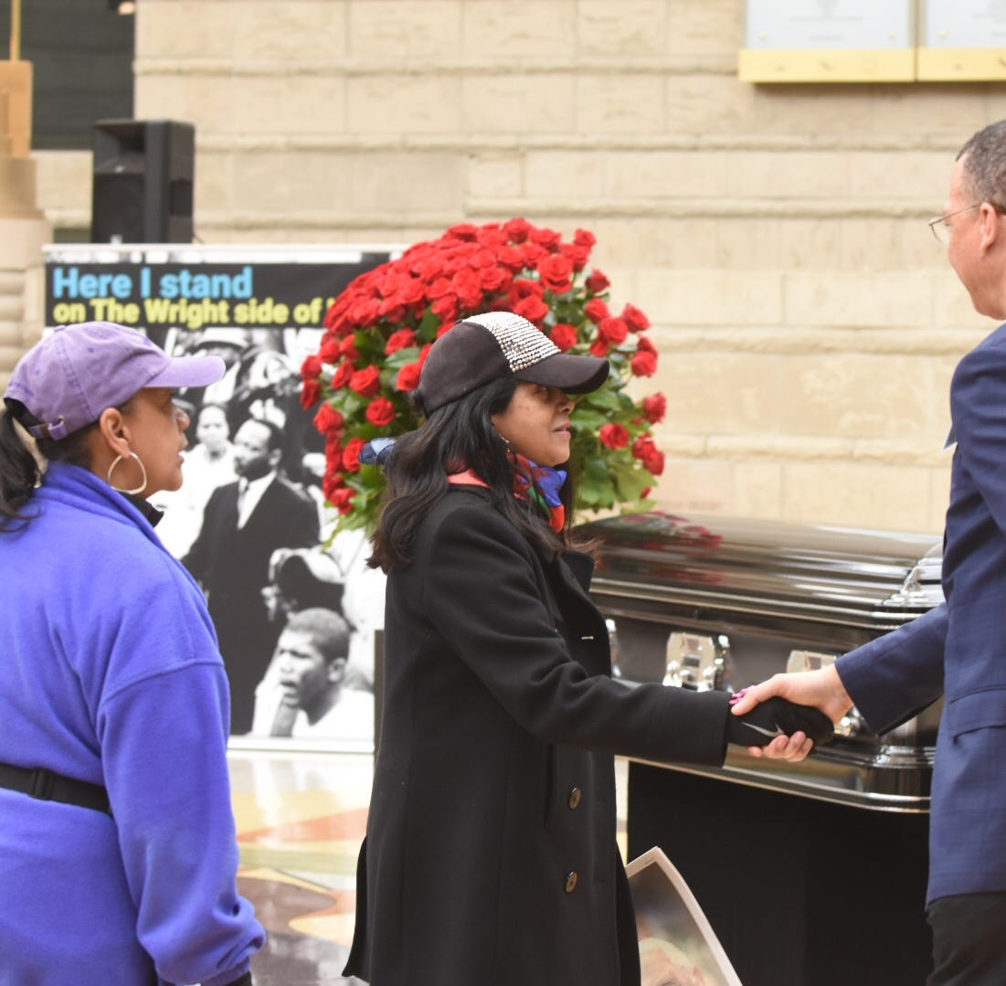 Detroiters pay respects to late Judge Damon Keith, a 'beacon of justice'