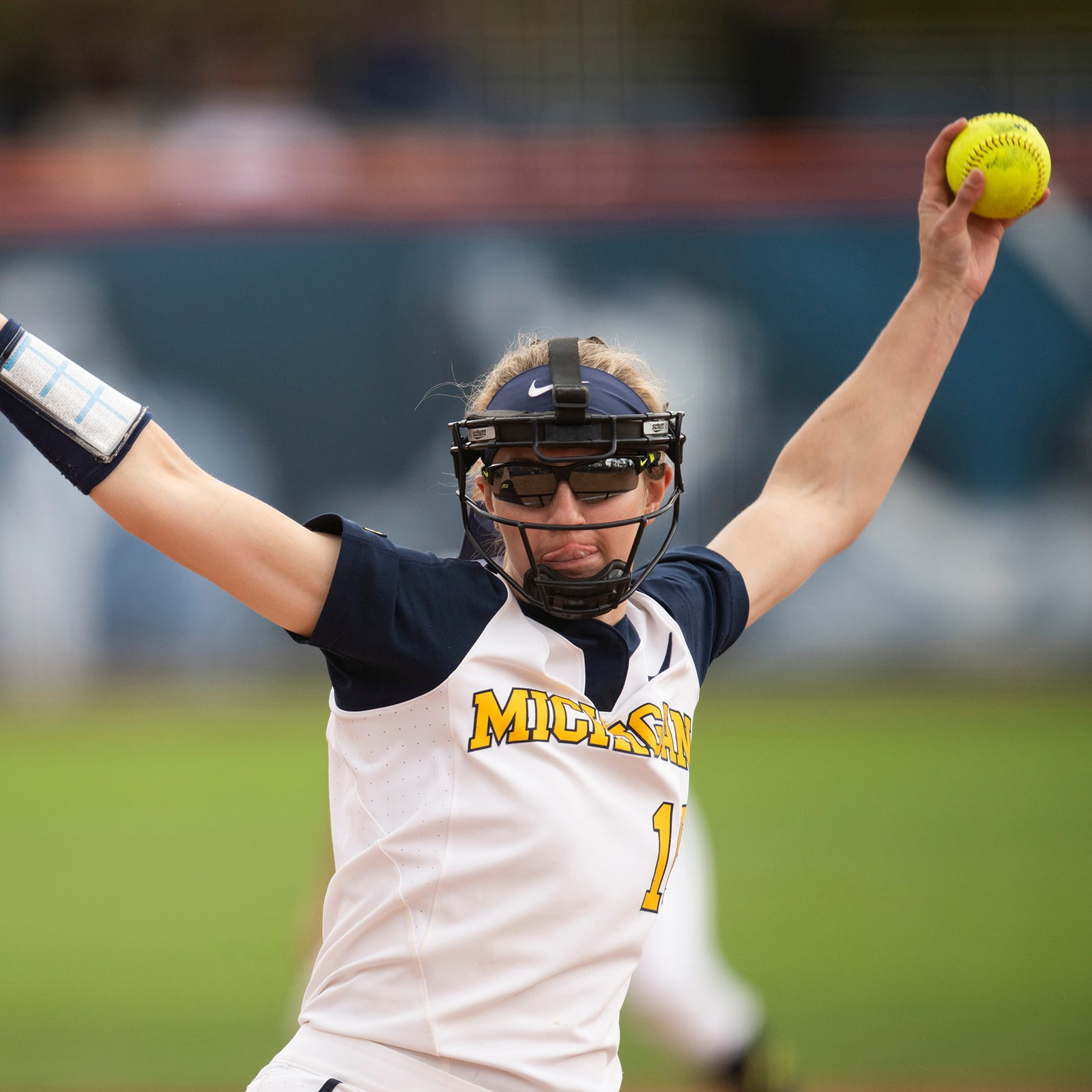 Meghan Beaubien comes to the rescue as Michigan makes Big Ten softball tournament title game