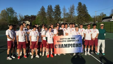 Ithaca Little Red boys tennis comes up big this season