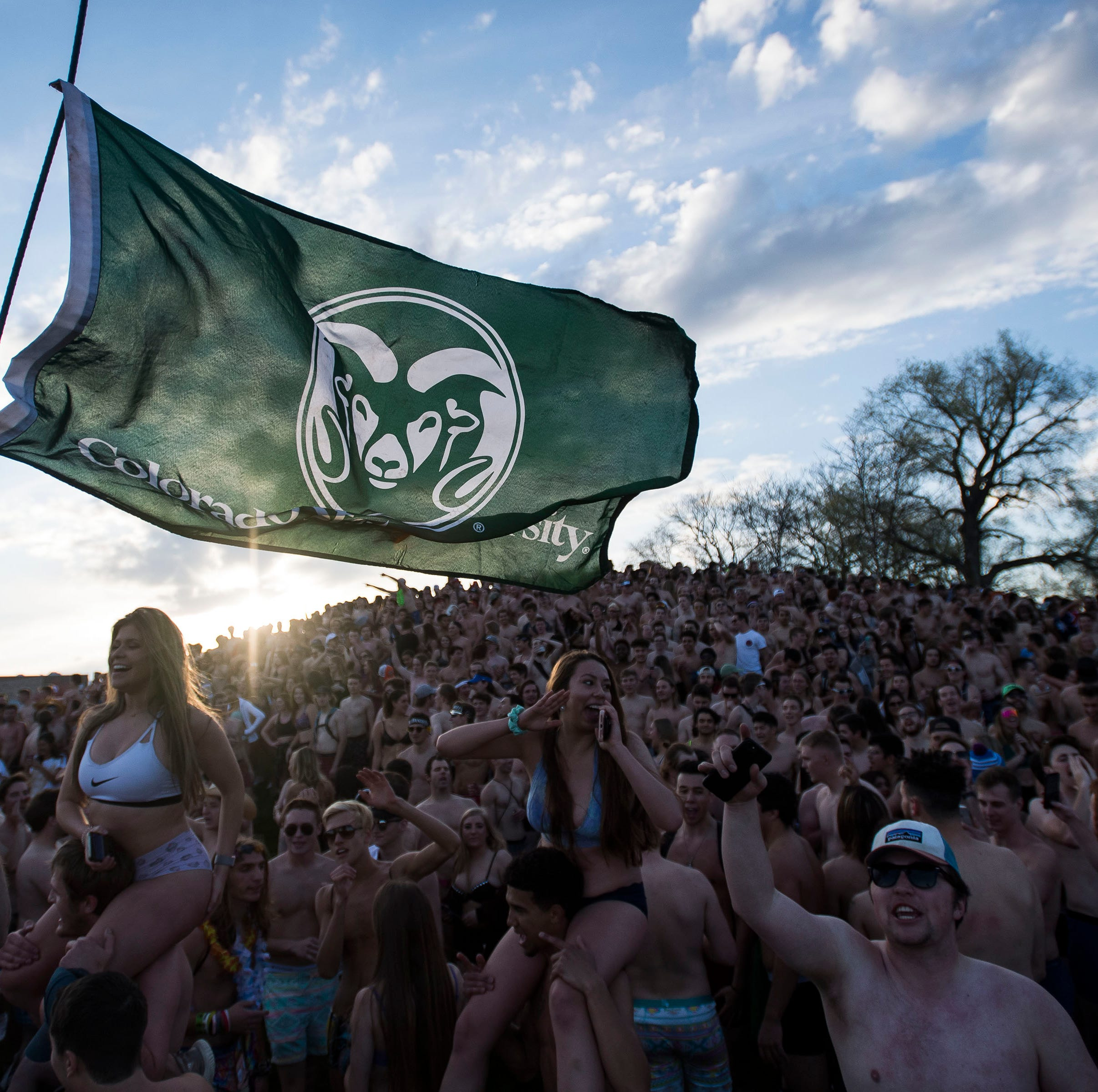 Annual Undie Run continues despite Colorado State University warnings