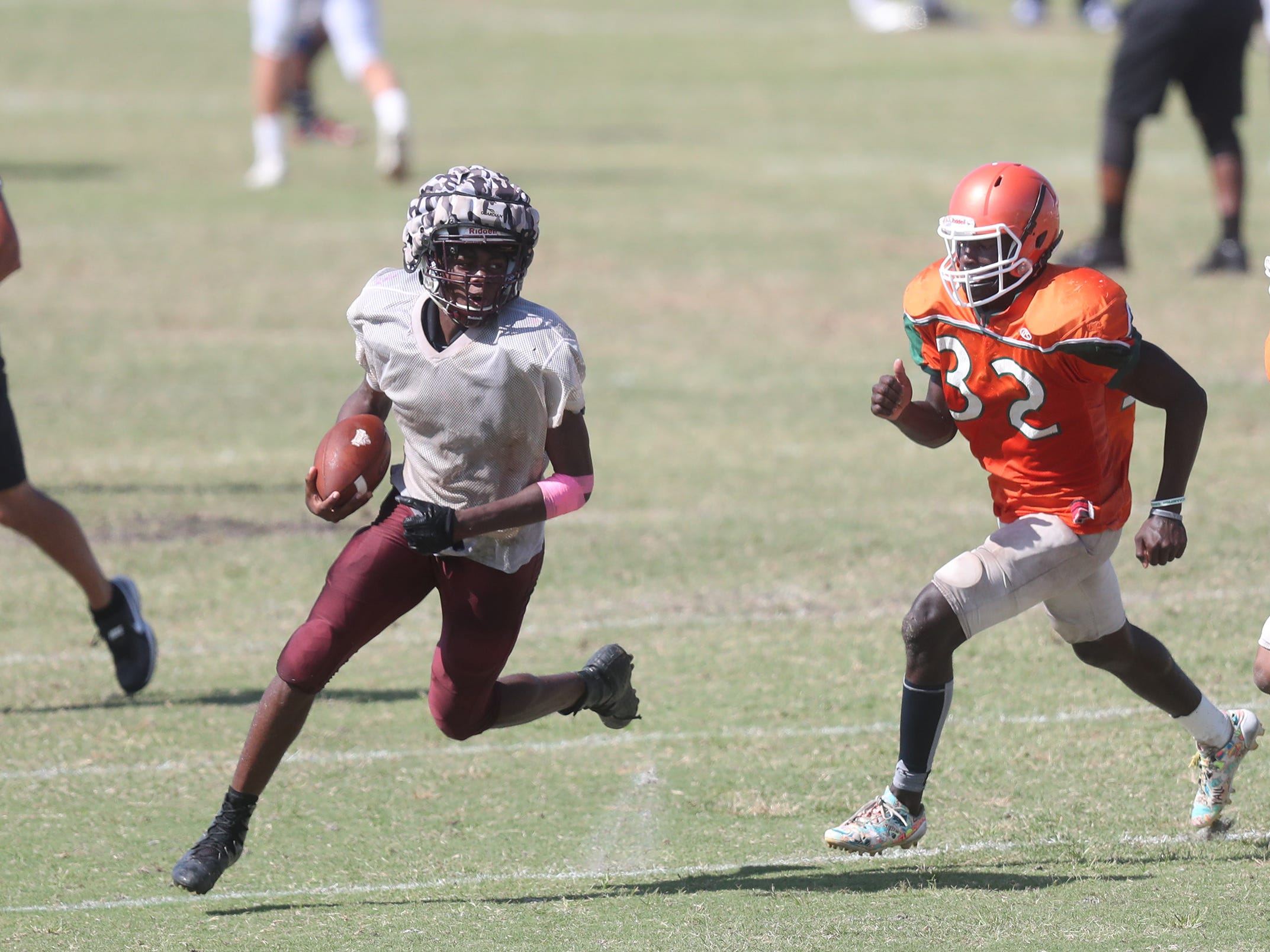 Riverdale High School joined North Fort Myers, Dunbar and Venice in a joint scrimmage on Saturday at North Fort Myers High School.