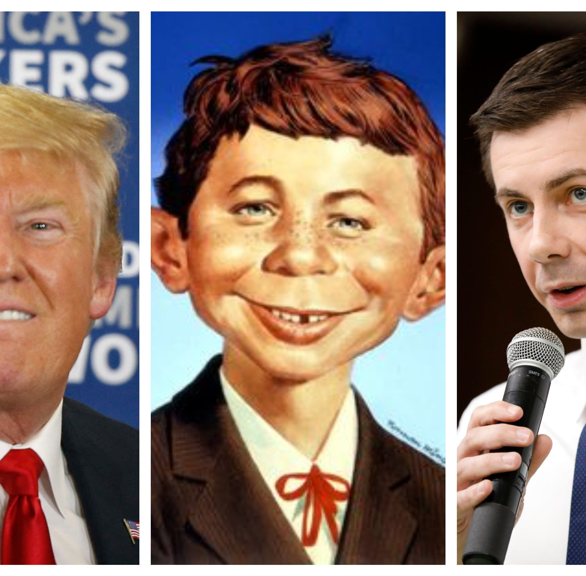 Donald Trump called Pete Buttigieg 'Alfred E. Neuman.' The millennial mayor had to Google it.