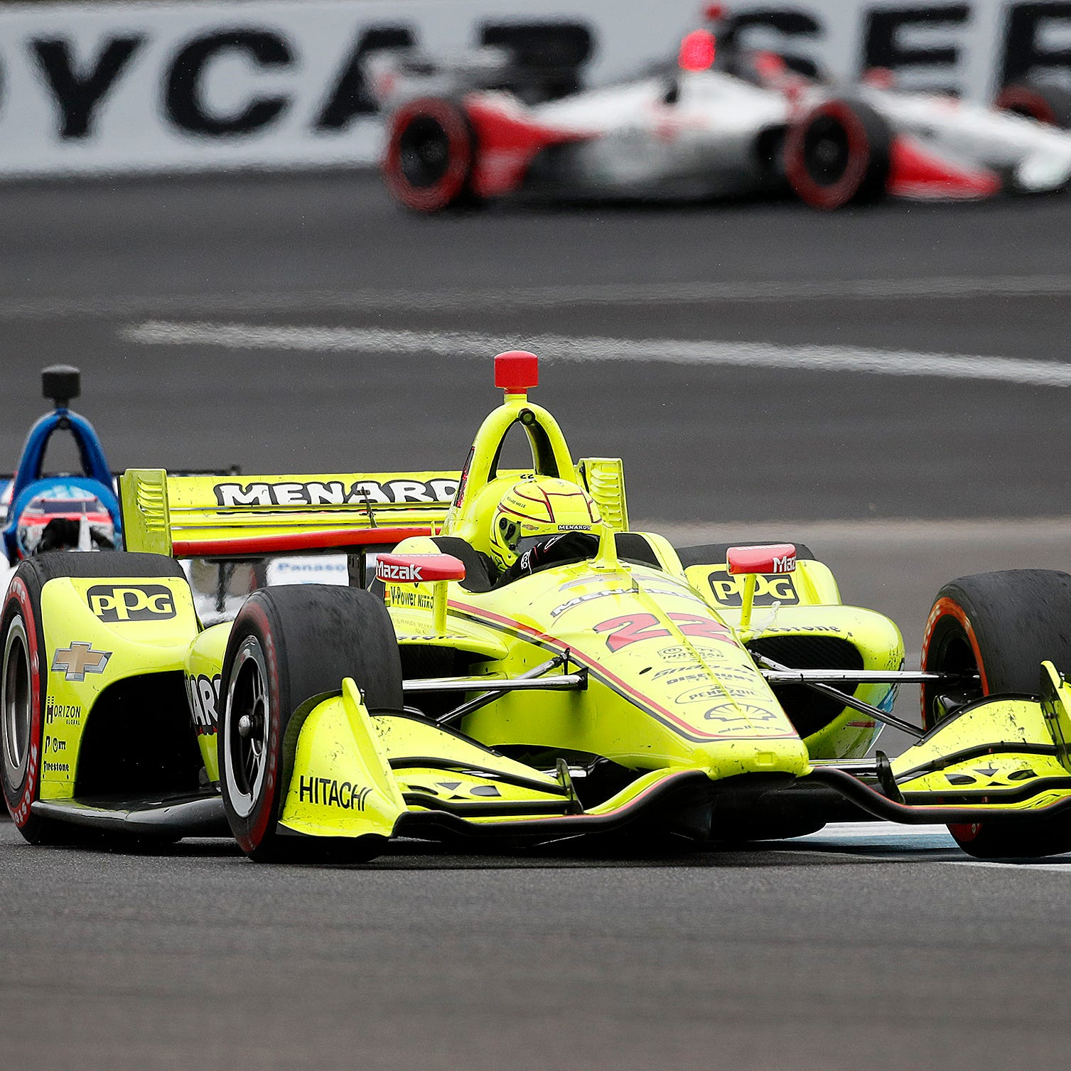 Simon Pagenaud charges late to win the 2019 IndyCar Grand Prix