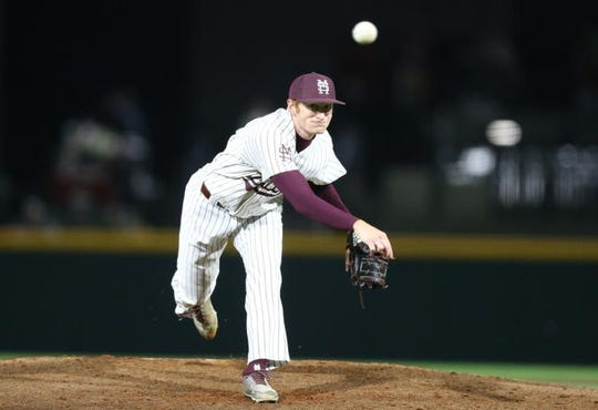 Mississippi State senior pitcher Jared Liebelt went 4.0 innings without allowing a run against Ole Miss on Friday night.