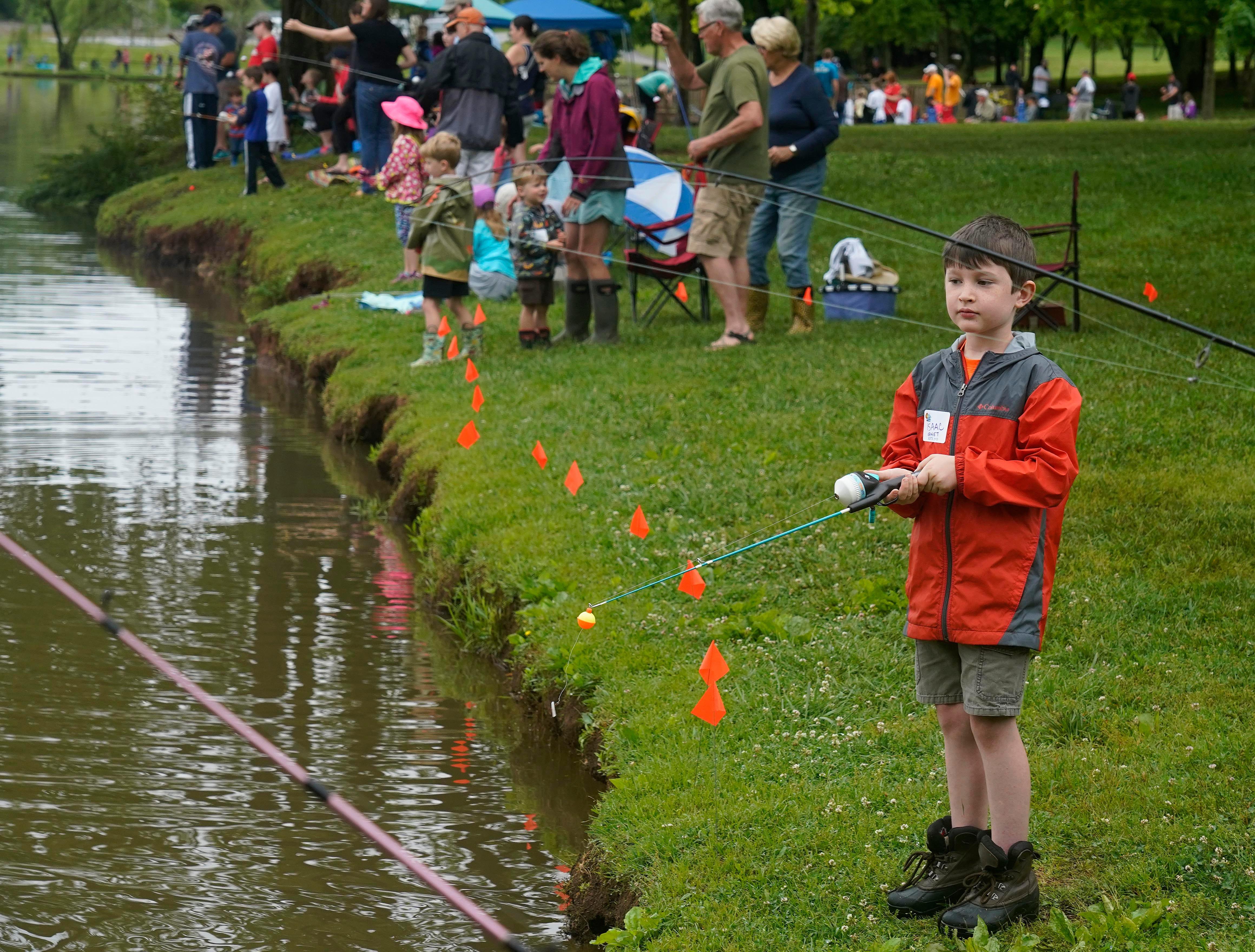 The 35th Annual Bob Watt Youth Fishing Rodeo was held Saturday, May. 11, 2019 at Anchor Park on Turkey Creek Road.