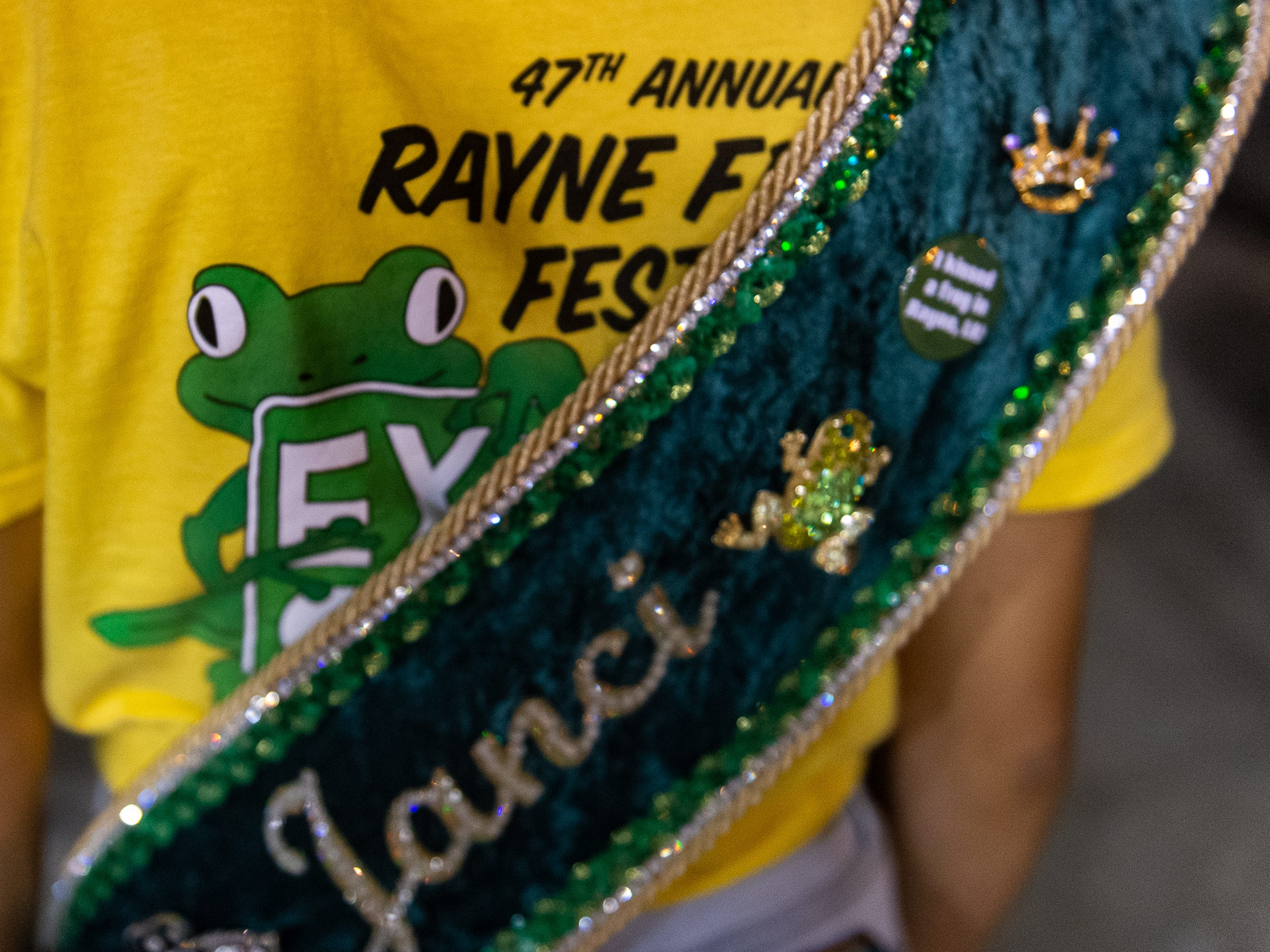 The Rayne Frog Festival features music, food and events. Friday, May 10, 2019.