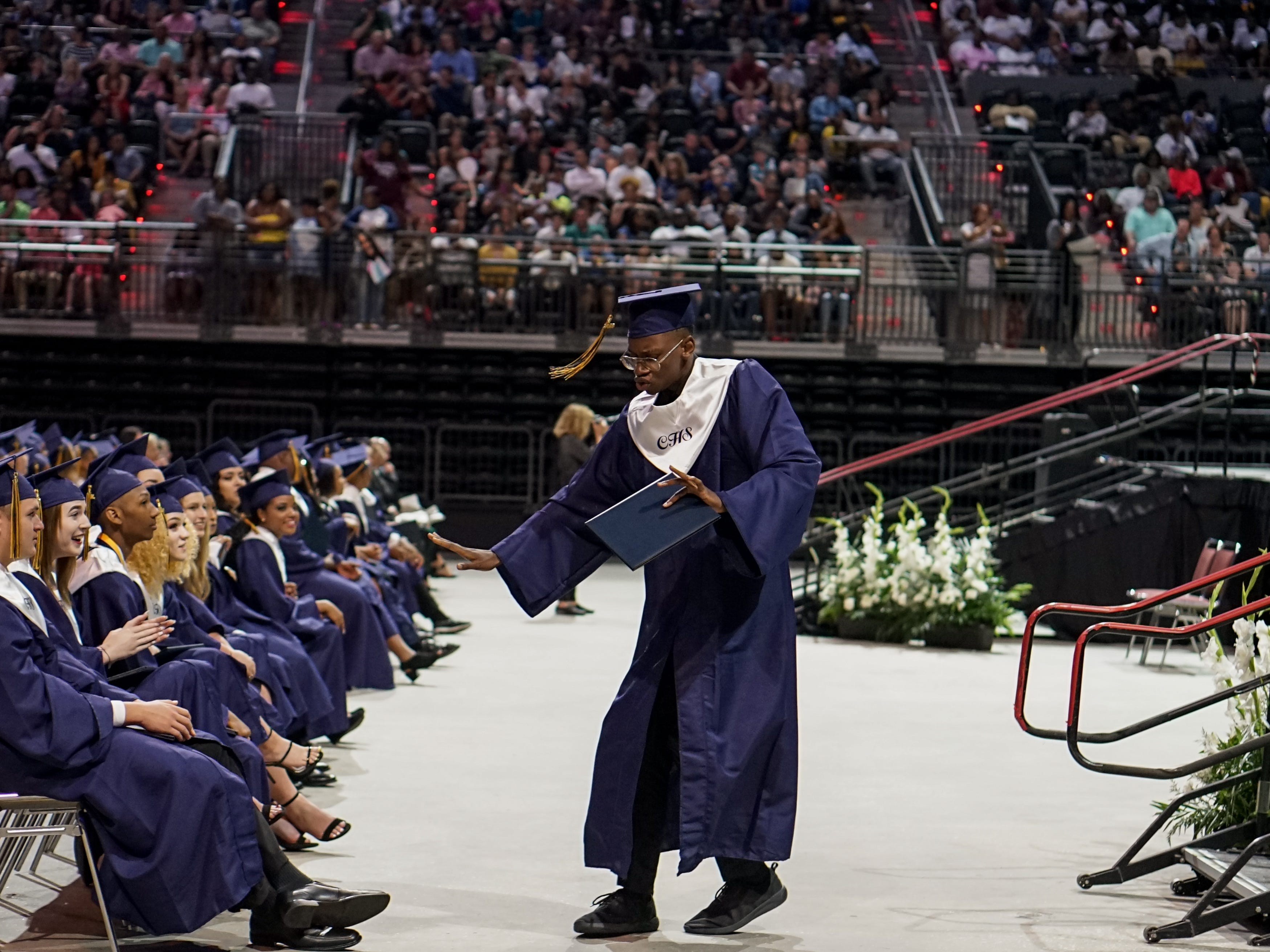 Carencro High School Graduation took place Saturday, May 11th at the Cajundome.