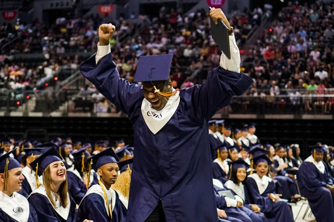 Carencro High School Graduation took place Saturday, May 11th, 2019 at the Cajundome.
