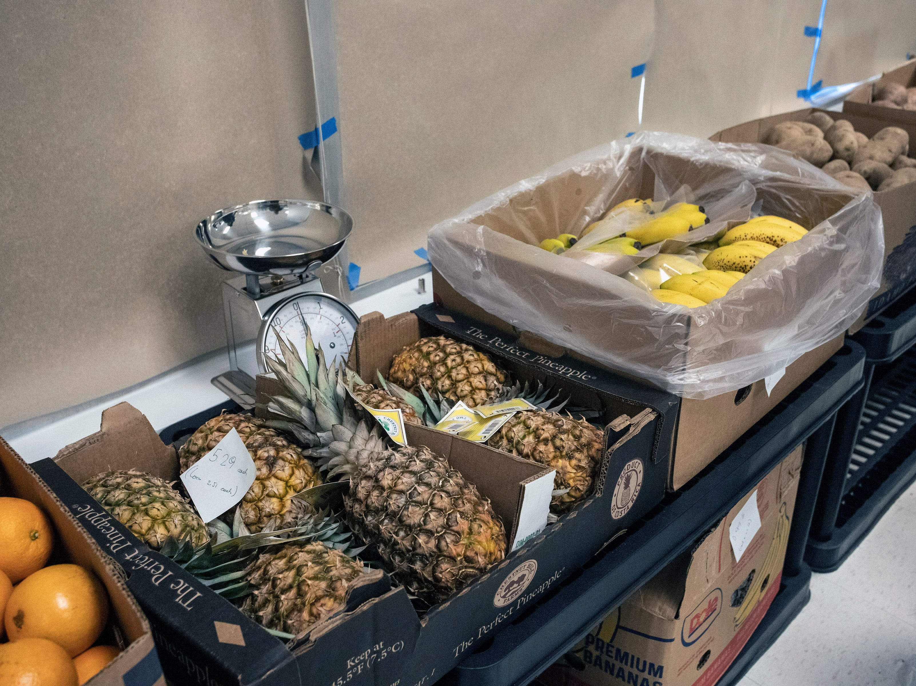Fresh produce and vegetables are part of the selection at the Superior Market & Deli on Broadway as downtown Louisville tries to evolve past its food desert status. 5/10/19