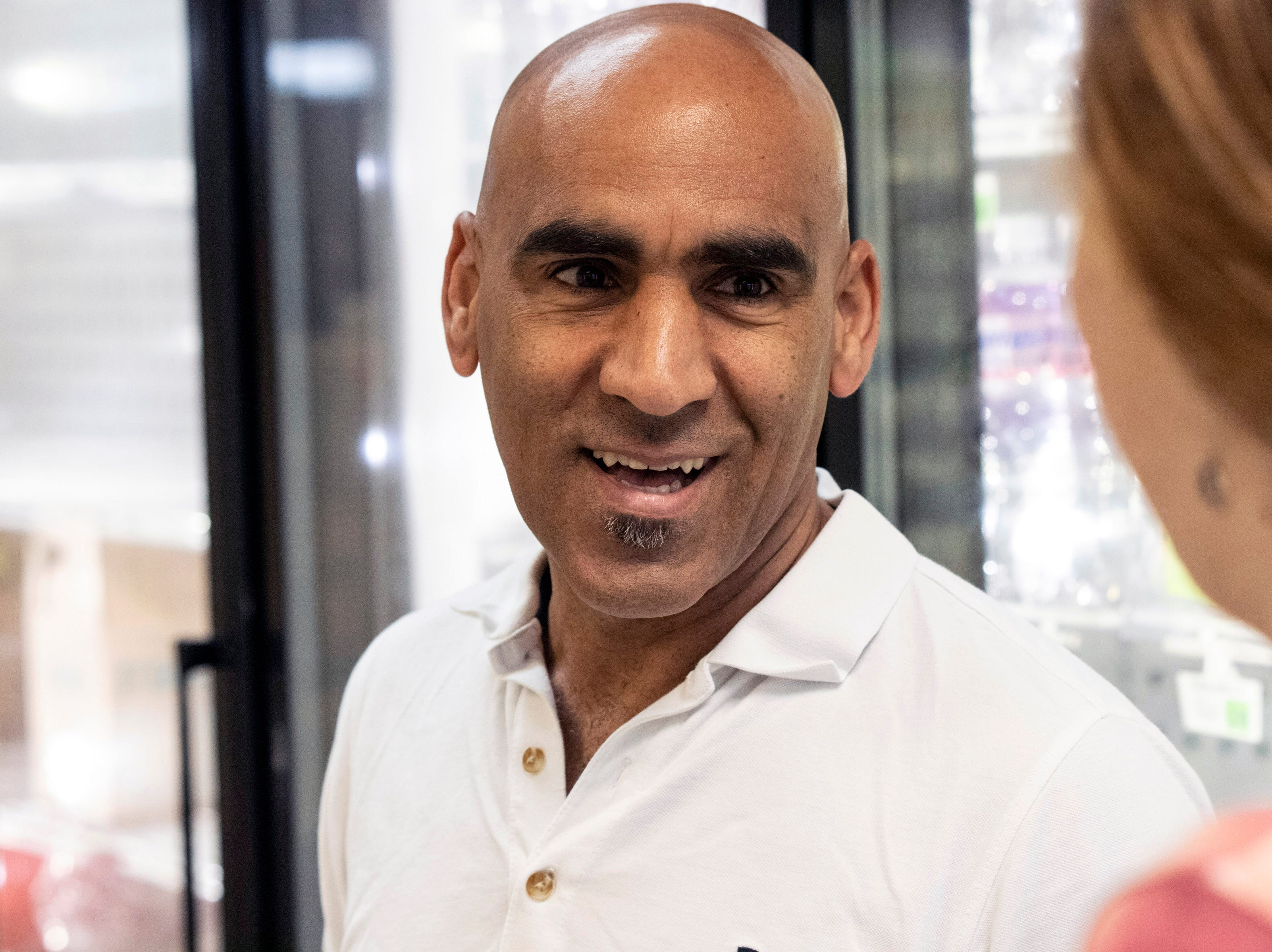Owner Abdul Alshawi is ready to open the Superior Market & Deli at Third & Broadway after lengthy renovations to the 5,400-square-foot space in the century-old Fincastle Building. 5/10/19