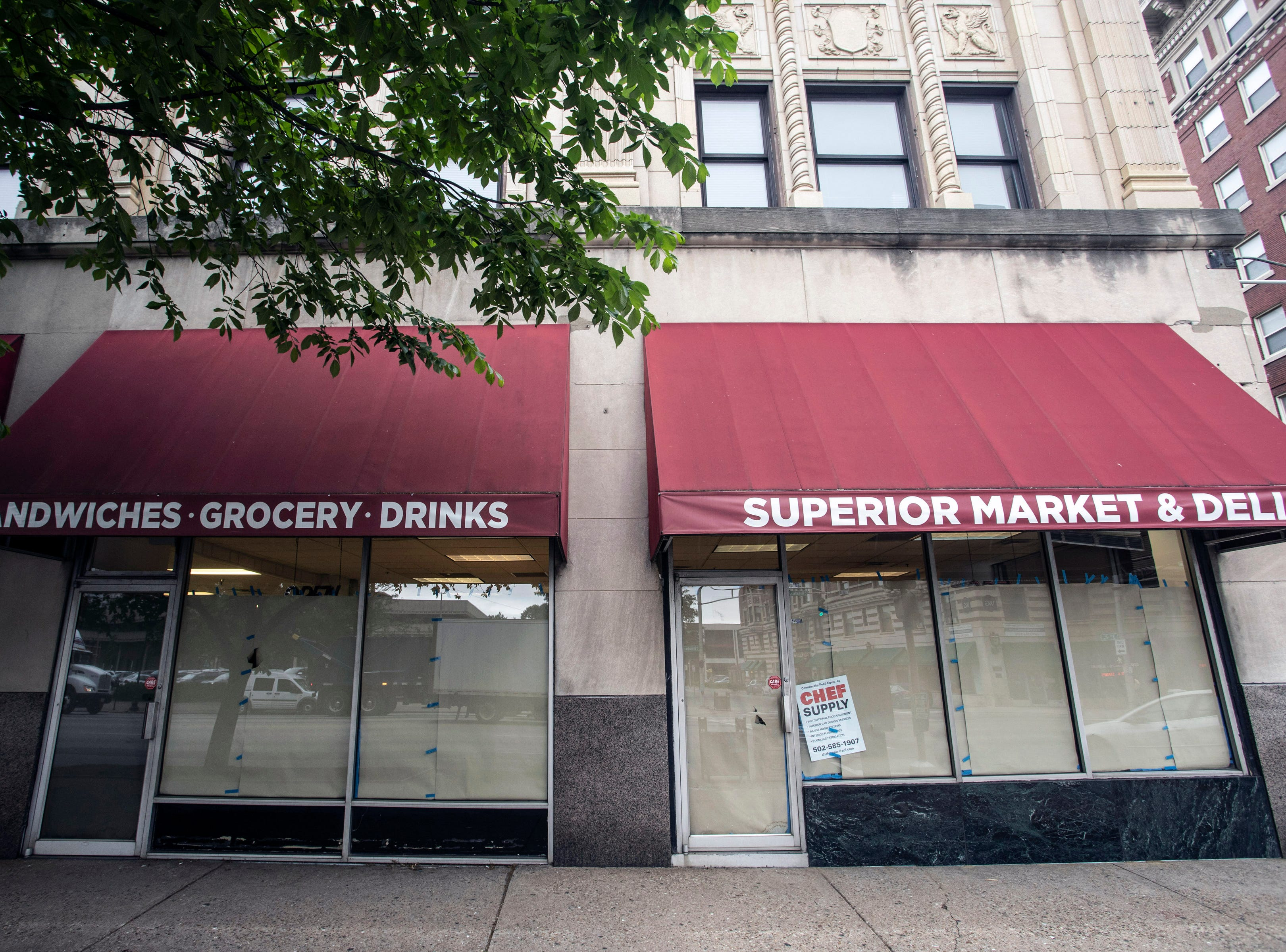 The Fincastle Building at the corner of Broadway and Third Street will now have a bodega on the first floor called Superior Market & Deli. 5/10/19
