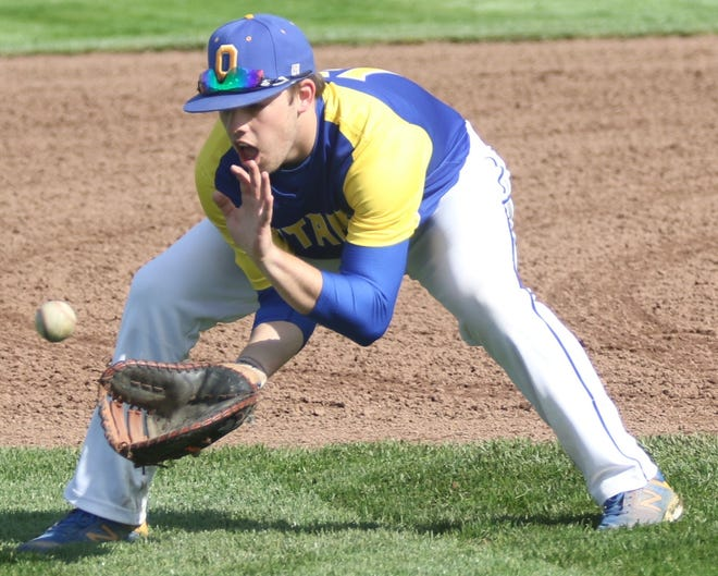 Ontario's Caden Armstrong returns as one of the top hitters in the area this season.