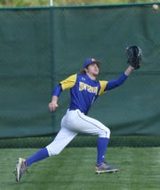 Ontario's Andrew Cacchio started the eighth inning off with a triple and scored the winning run in an MOAC-title clinching win over Galion.