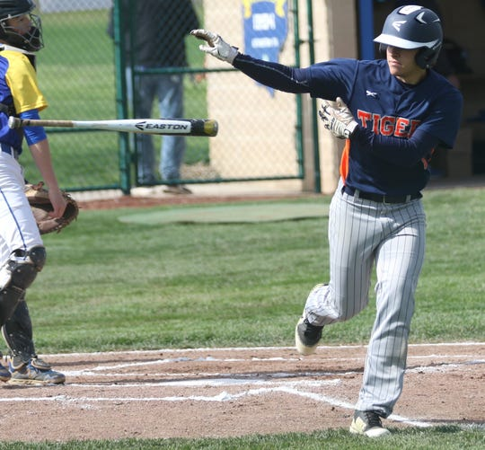 Galion's Ryan Utz scored 31 runs this season for the Tigers.