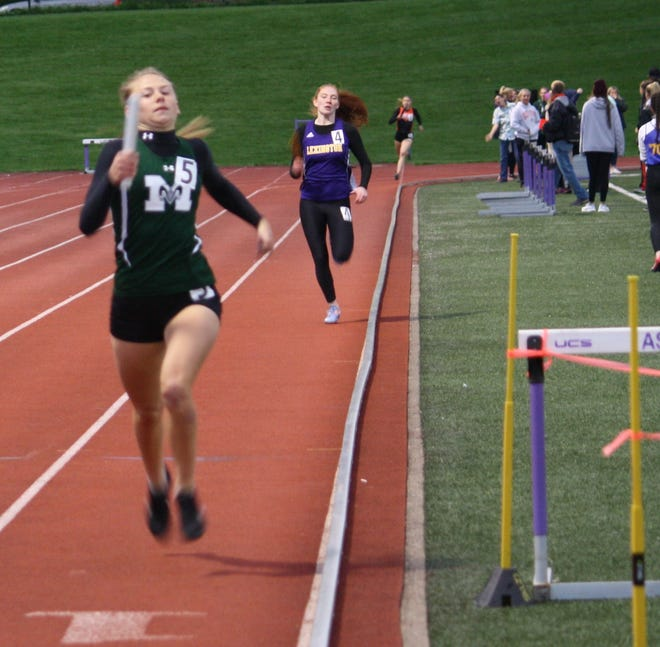 Madison's Taylor Huff was named the 2019 Ohio Cardinal Conference Female Runner of the Year over the weekend in just her first year running varsity track.