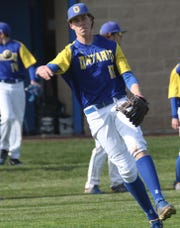 Ontario's Matt Weaver collected four hits, three doubles and a single, in a MOAC-title clinching win over Galion on Saturday.
