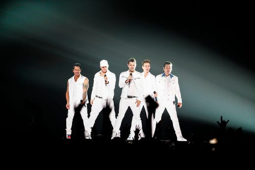 New Kids on the block turn back the clock at FedExForum concert
