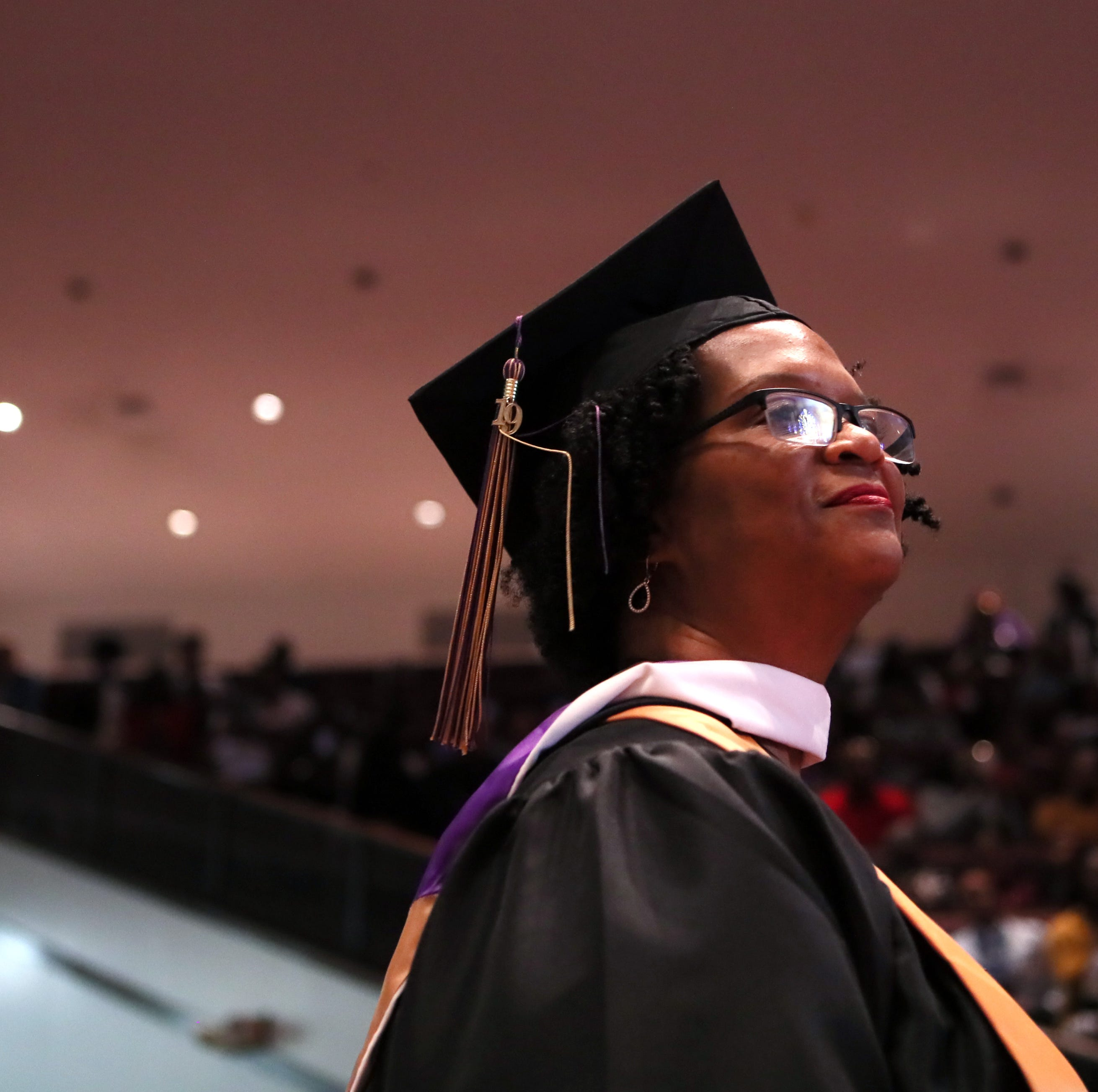 Alison Turner, 59, earns 3 LeMoyne-Owen degrees after decades of setbacks