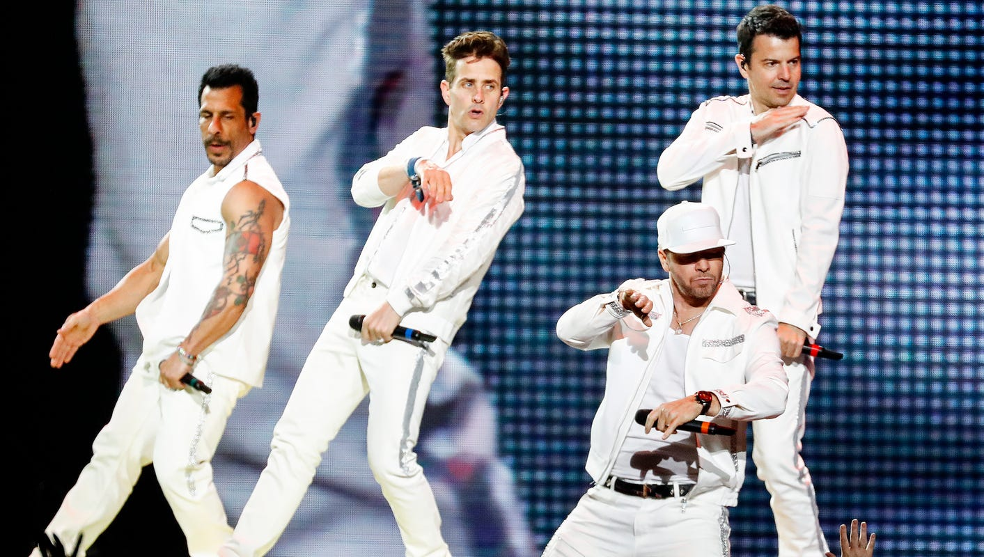 f80df6935 New Kids on the block turn back the clock at FedExForum concert