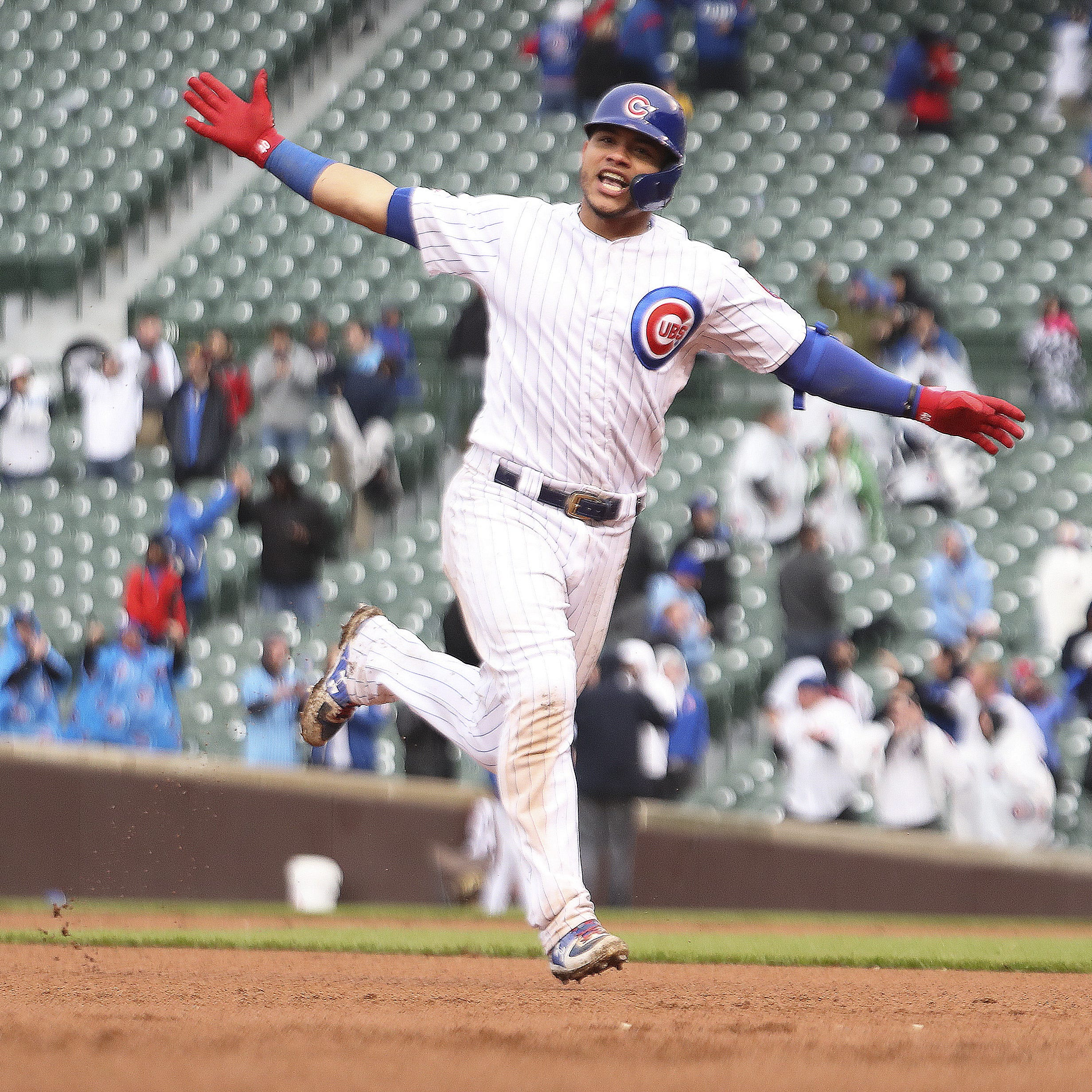 Cubs 2, Brewers 1: Willson Contreras' homer ends a marathon in the 15th