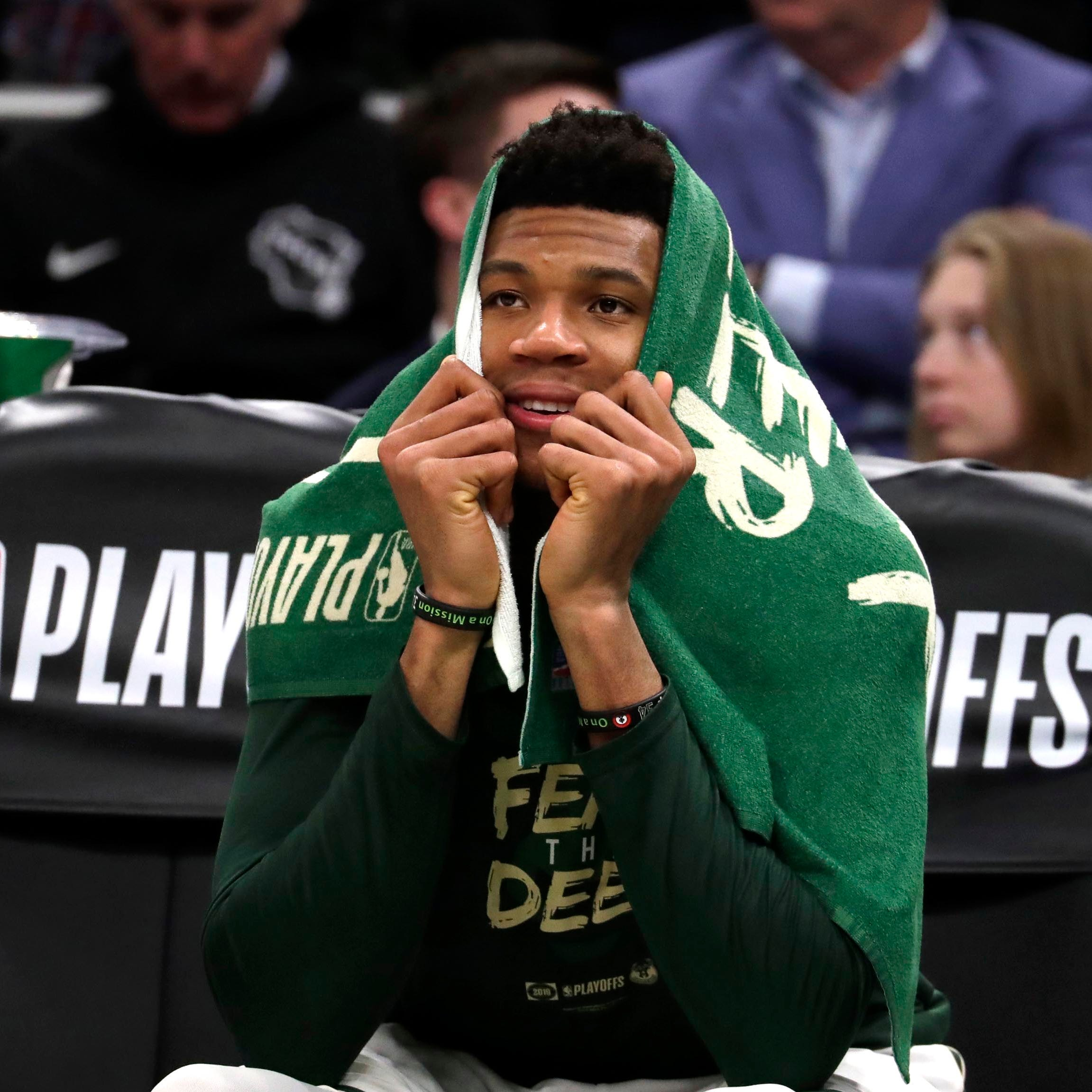 The Bucks earned themselves some time off, but that doesn't mean they're staying out of the gym