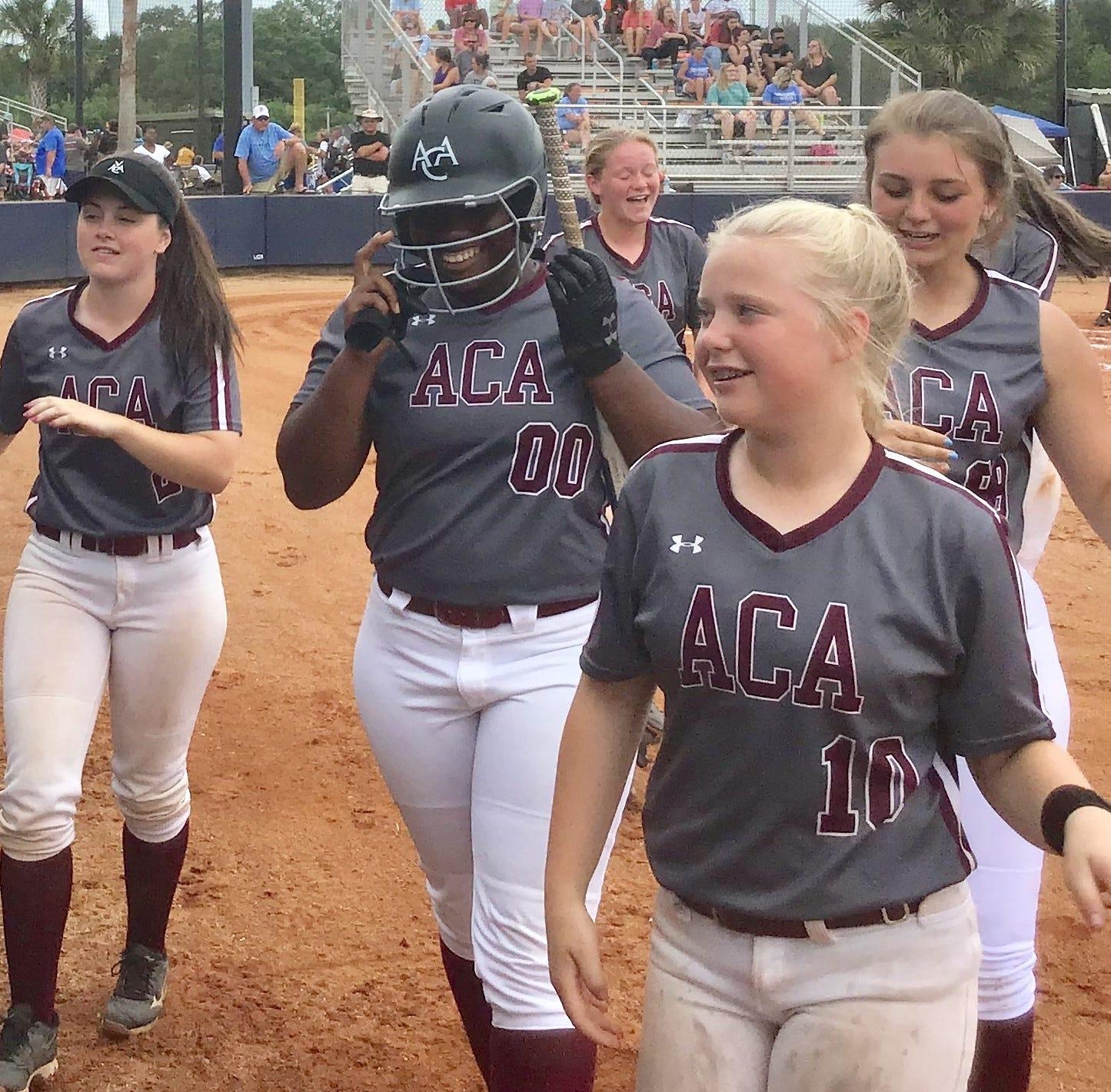 ACA softball knocks off LAMP to advance to state tournament