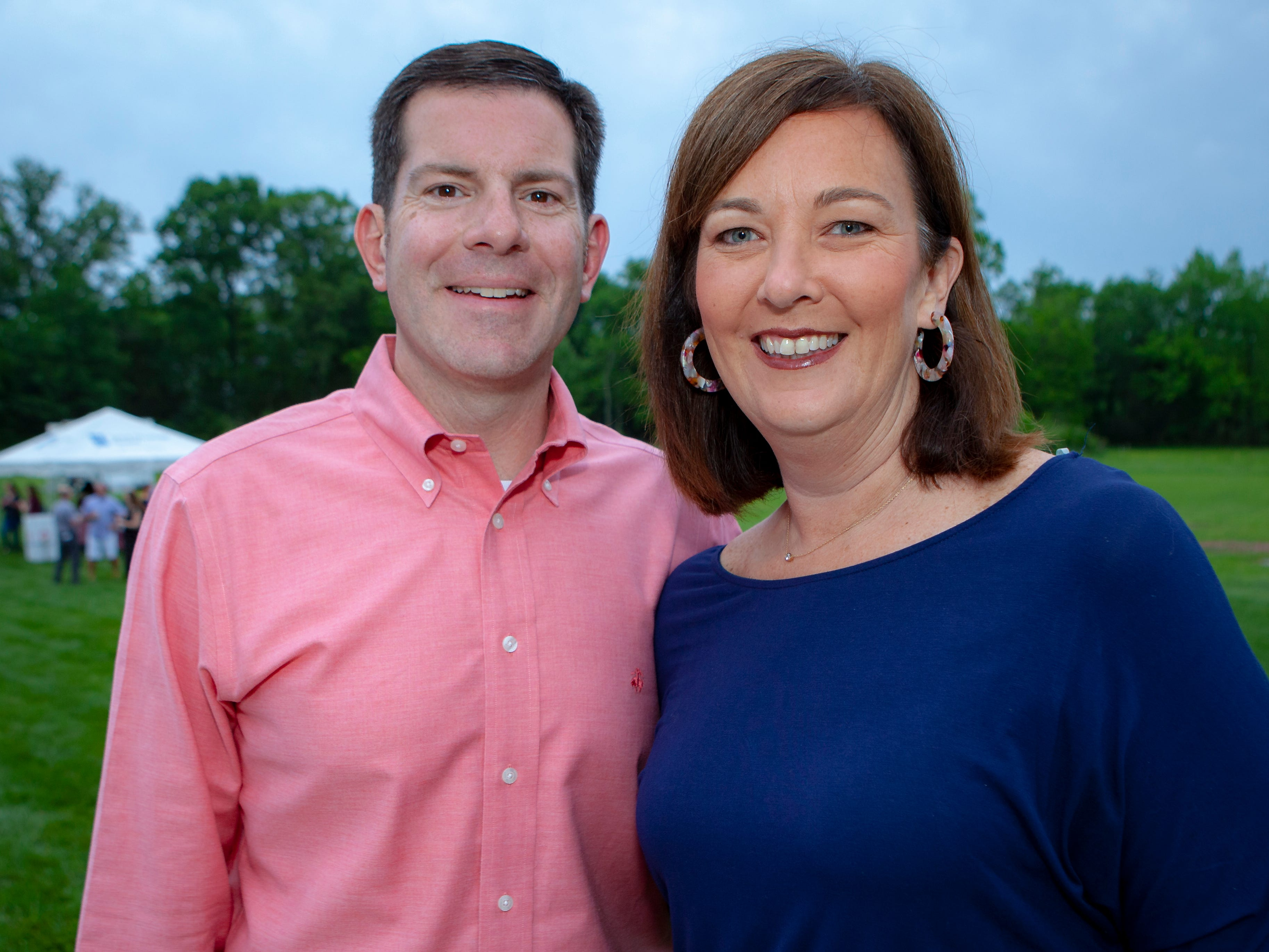 Tom and Stacy Boyle enjoyed a Cajun feast under the stars at United Way's Red, White and Bayou, held Friday, May 10, 2019 at the home of Jimmy & Nikkole Aho.