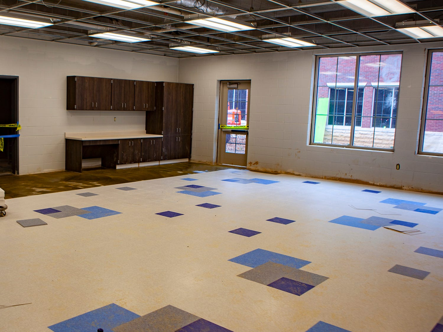 This classroom will be used as the art room at Salem Elementary, set to open in July. It will be the 13th school in the Murfreesboro City Schools district.