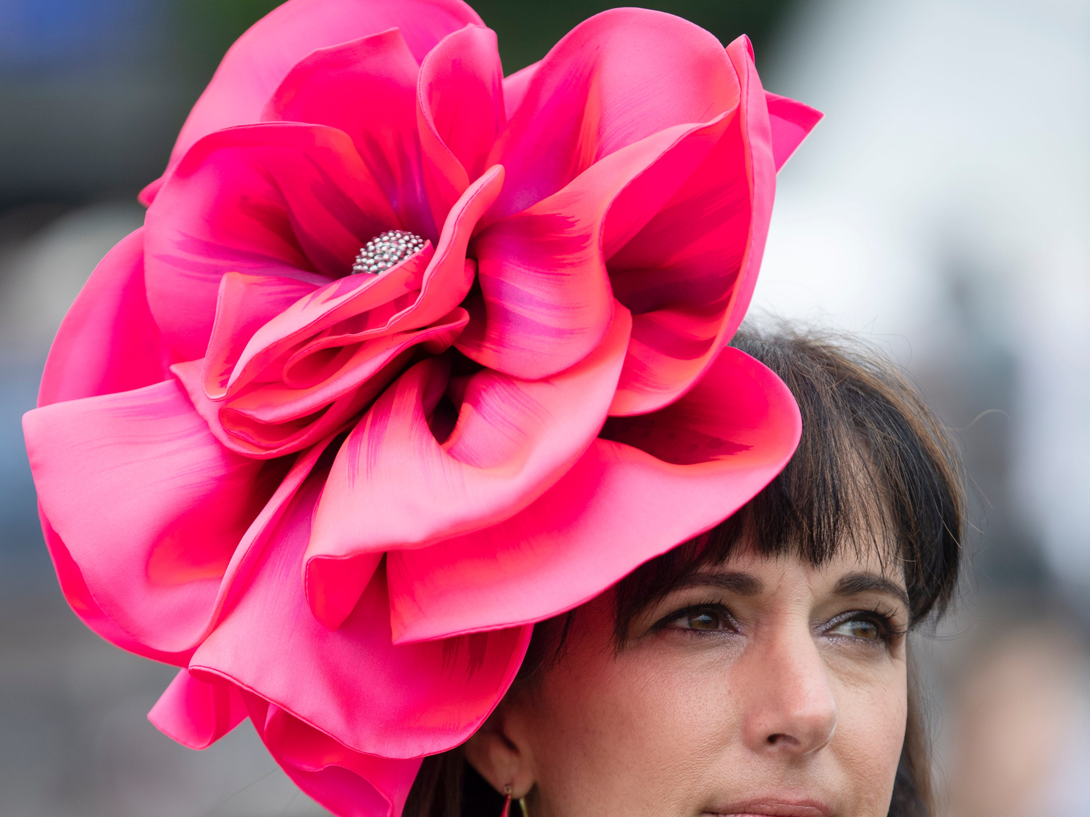 Missy Ryan at the 78th Iroquois Steeplechase at Percy Warner Park in Nashville on Saturday, May 11, 2019.