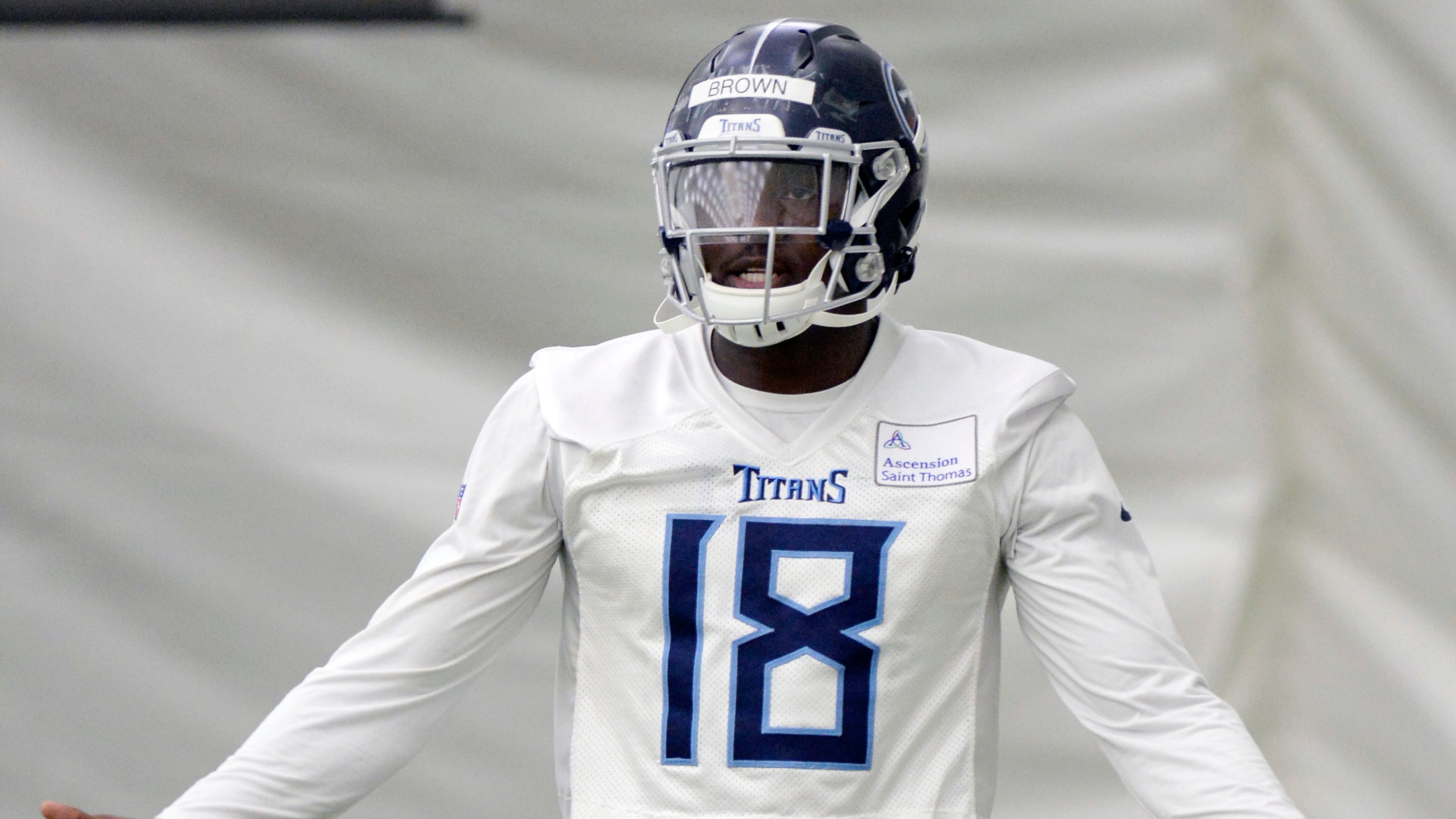 Image result for aj brown titans