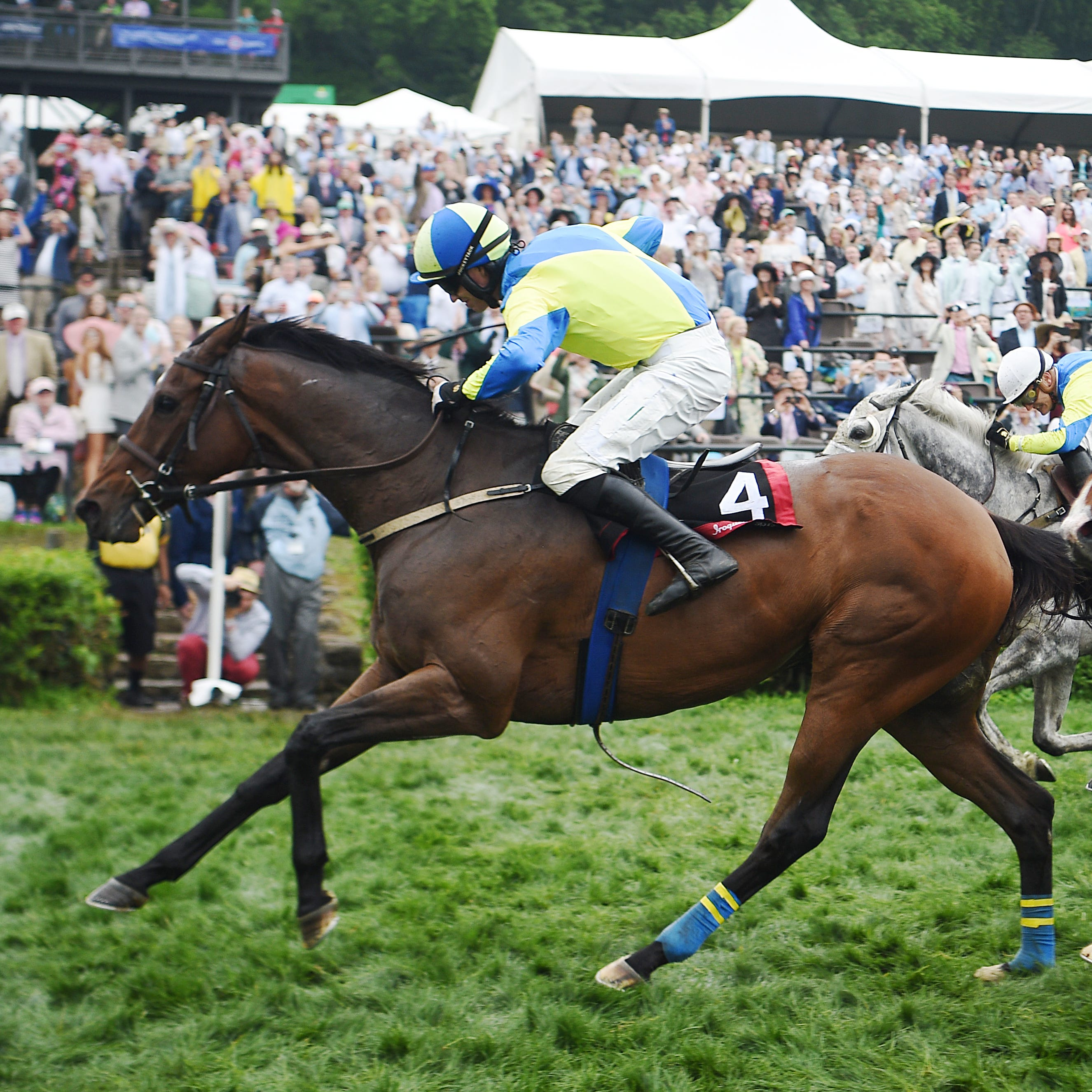 Scorpiancer rallies to win Iroquois Steeplechase for second time in three years