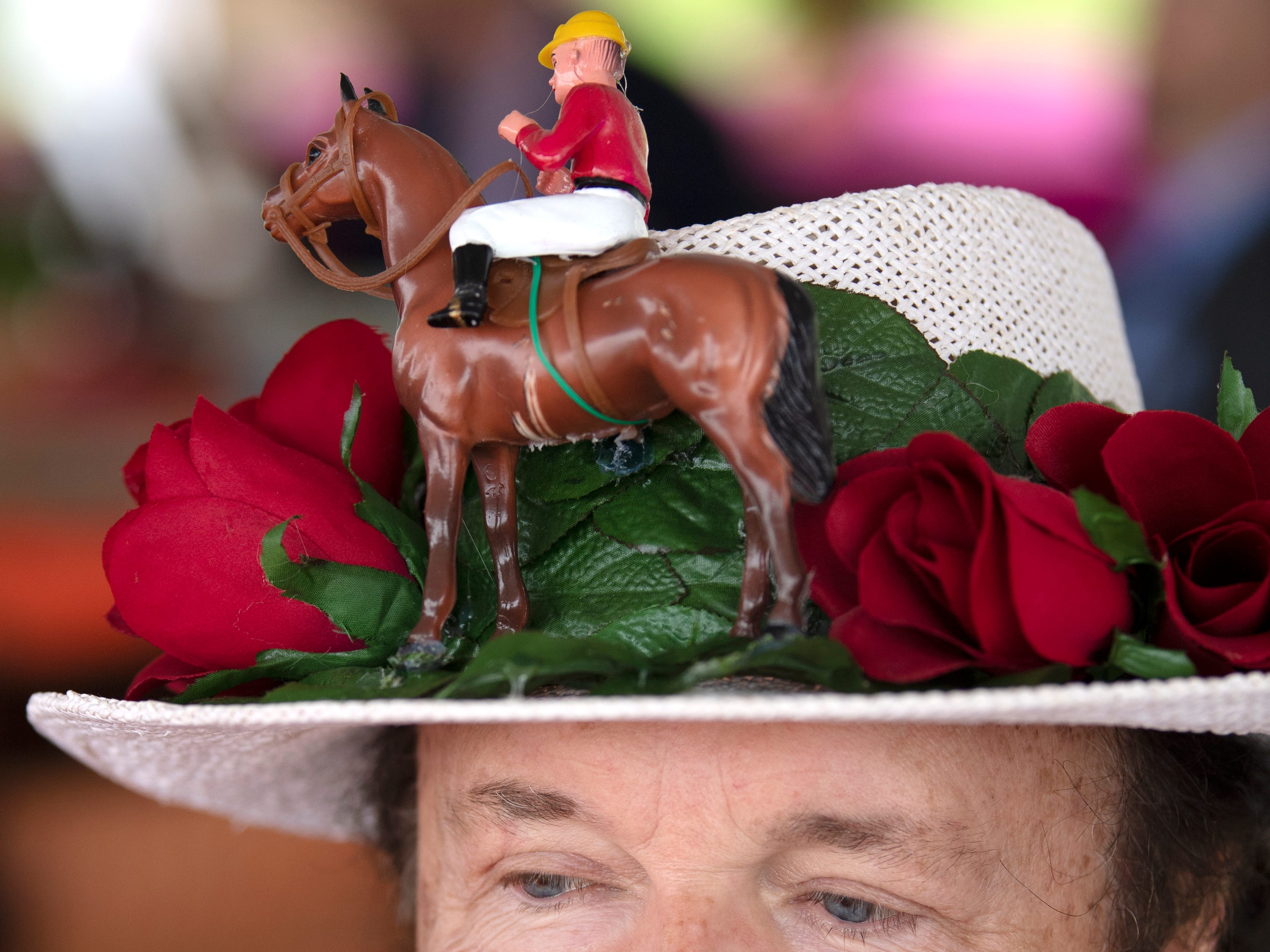 Steve Harder at the 78th Iroquois Steeplechase at Percy Warner Park in Nashville on Saturday, May 11, 2019.