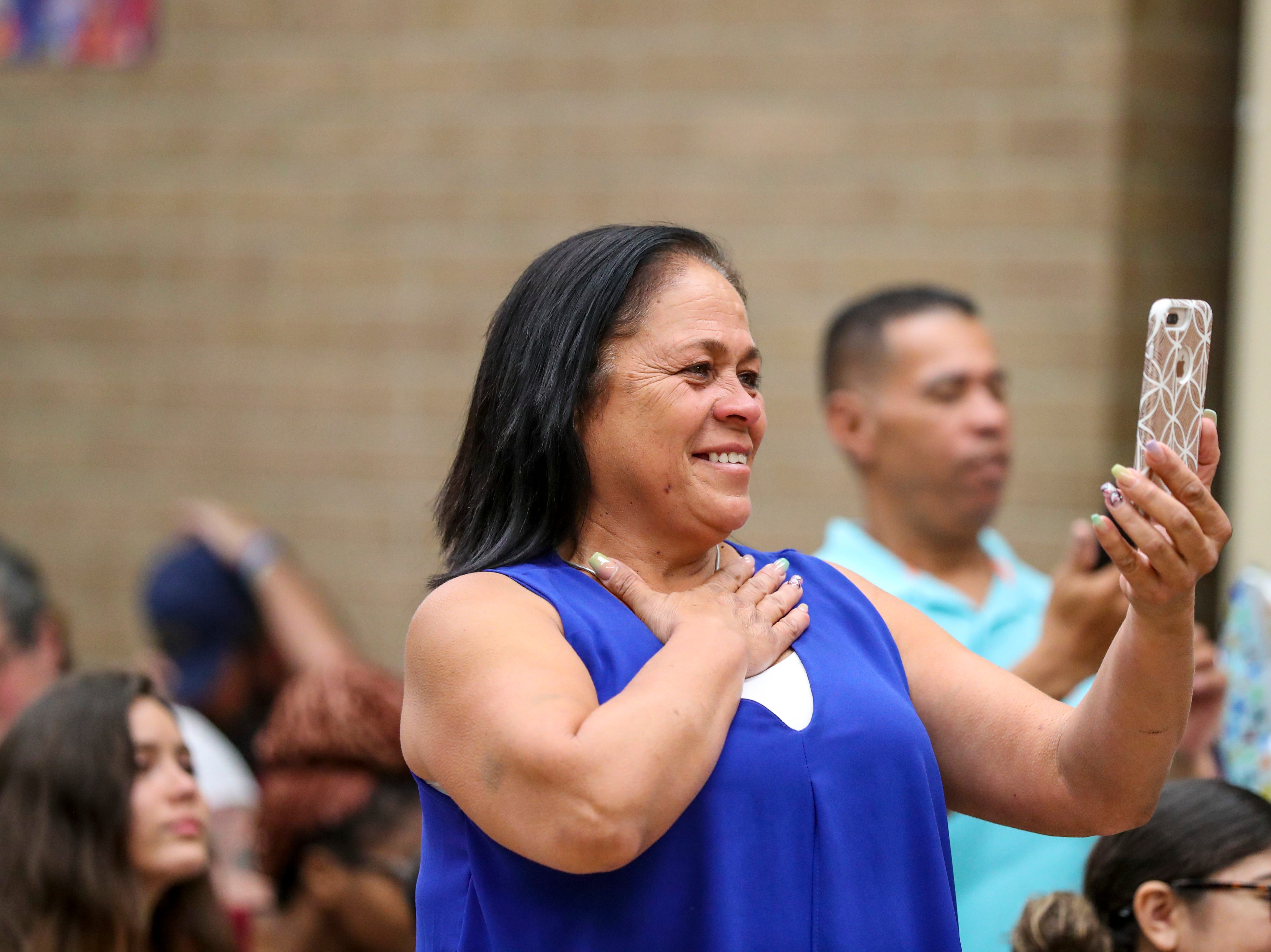 Carmen Galan was a proud grandmother as she watched Melvin Reyes receive his diploma. 13 students at Buckingham Exceptional Student Center graduated during a ceremony in their honor. Family, friends, and staff were there to honor the graduates.