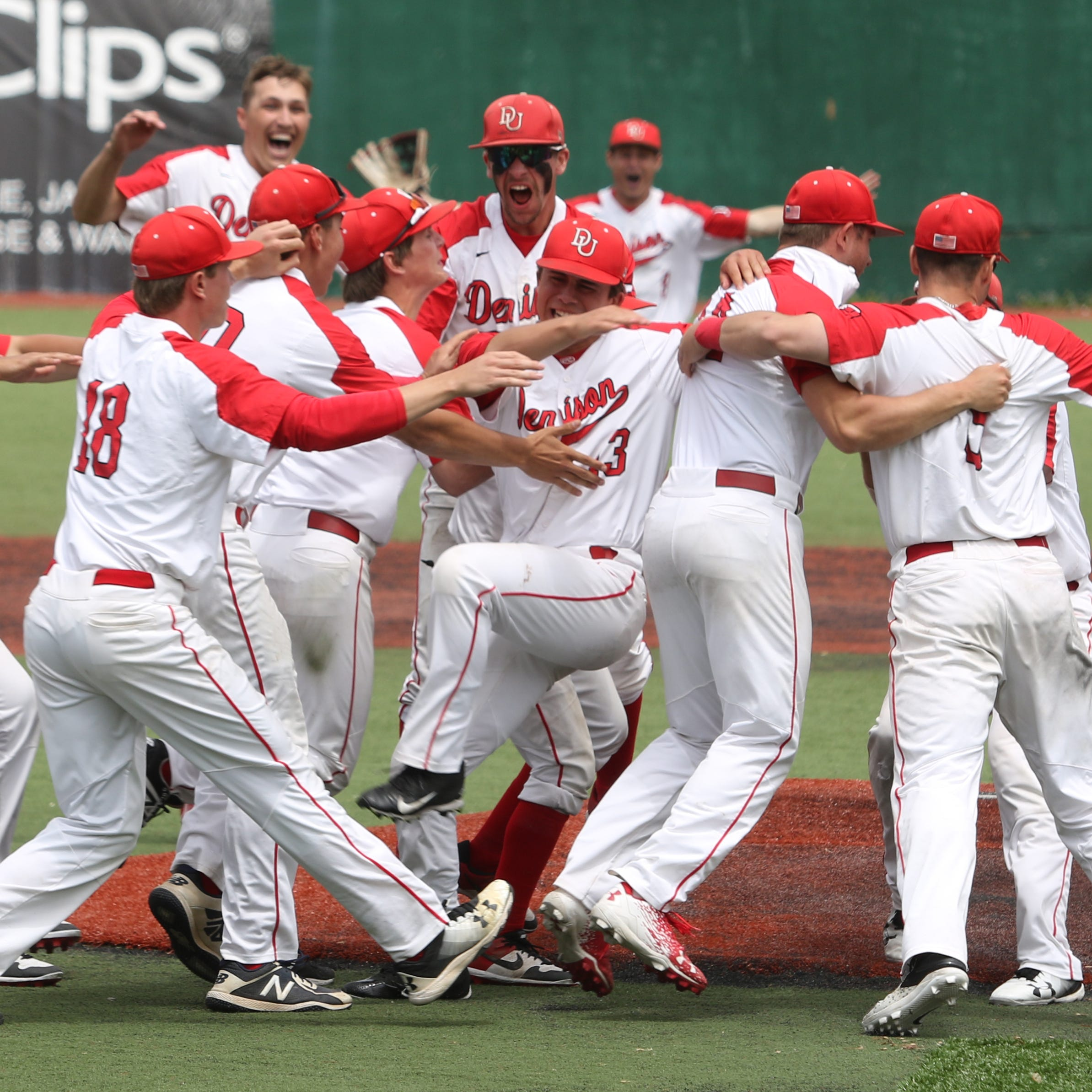 Denison baseball wins first NCAC tournament title