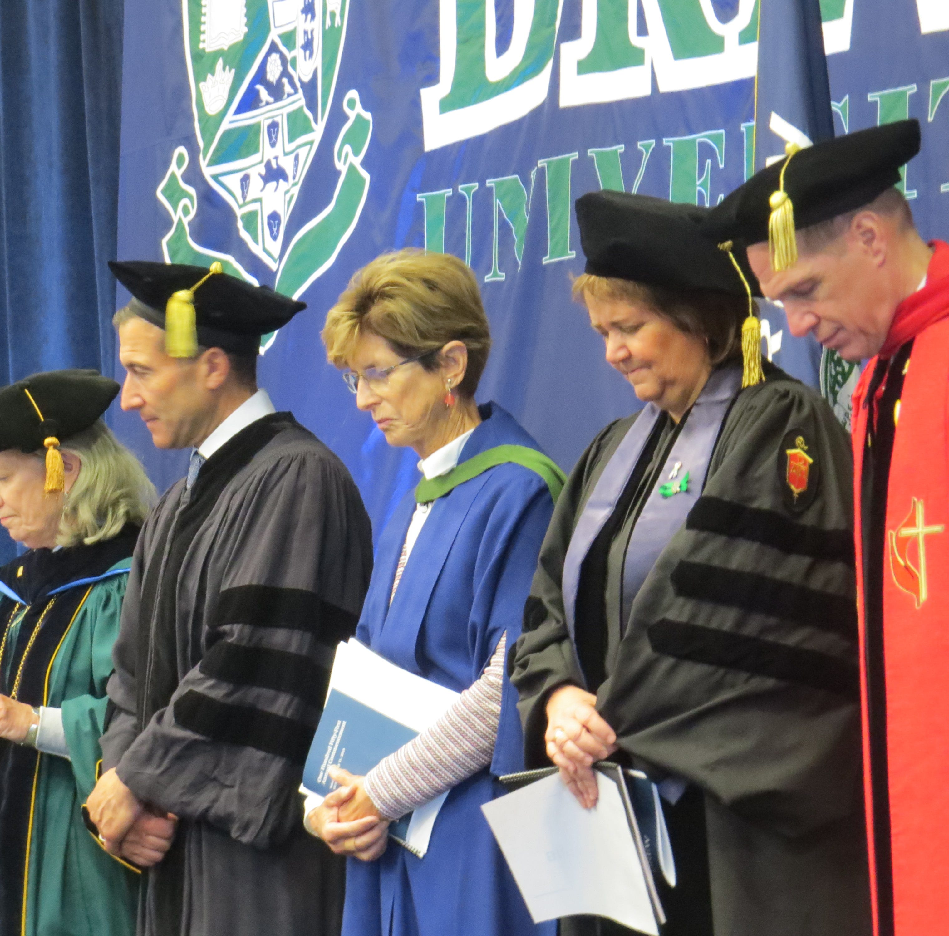 Drew, St. Elizabeth graduates receive degrees, challenges