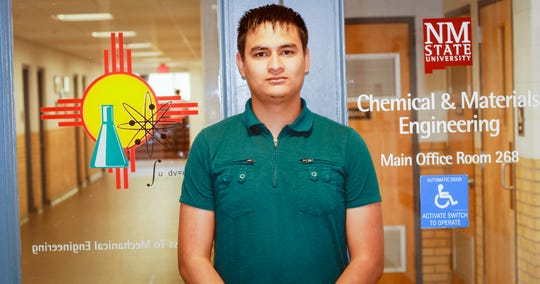 David Rodriguez, a migrant student who moved to the U.S. from Mexico when he was 17, earned his bachelor's degree in chemical engineering.