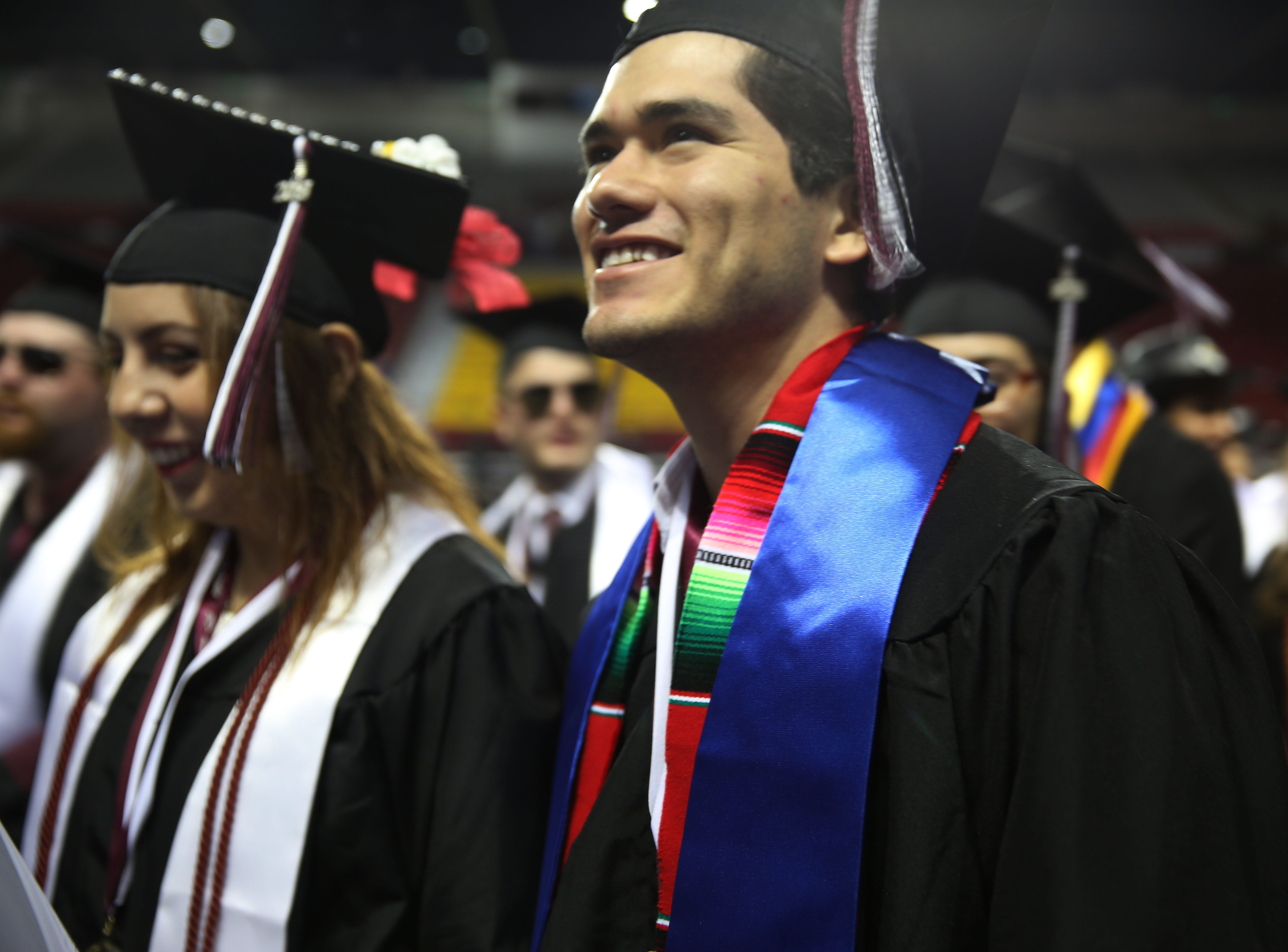 Presenting new graduates! New Mexico State University hosted it's commencement ceremony, Saturday May 11, 2019.