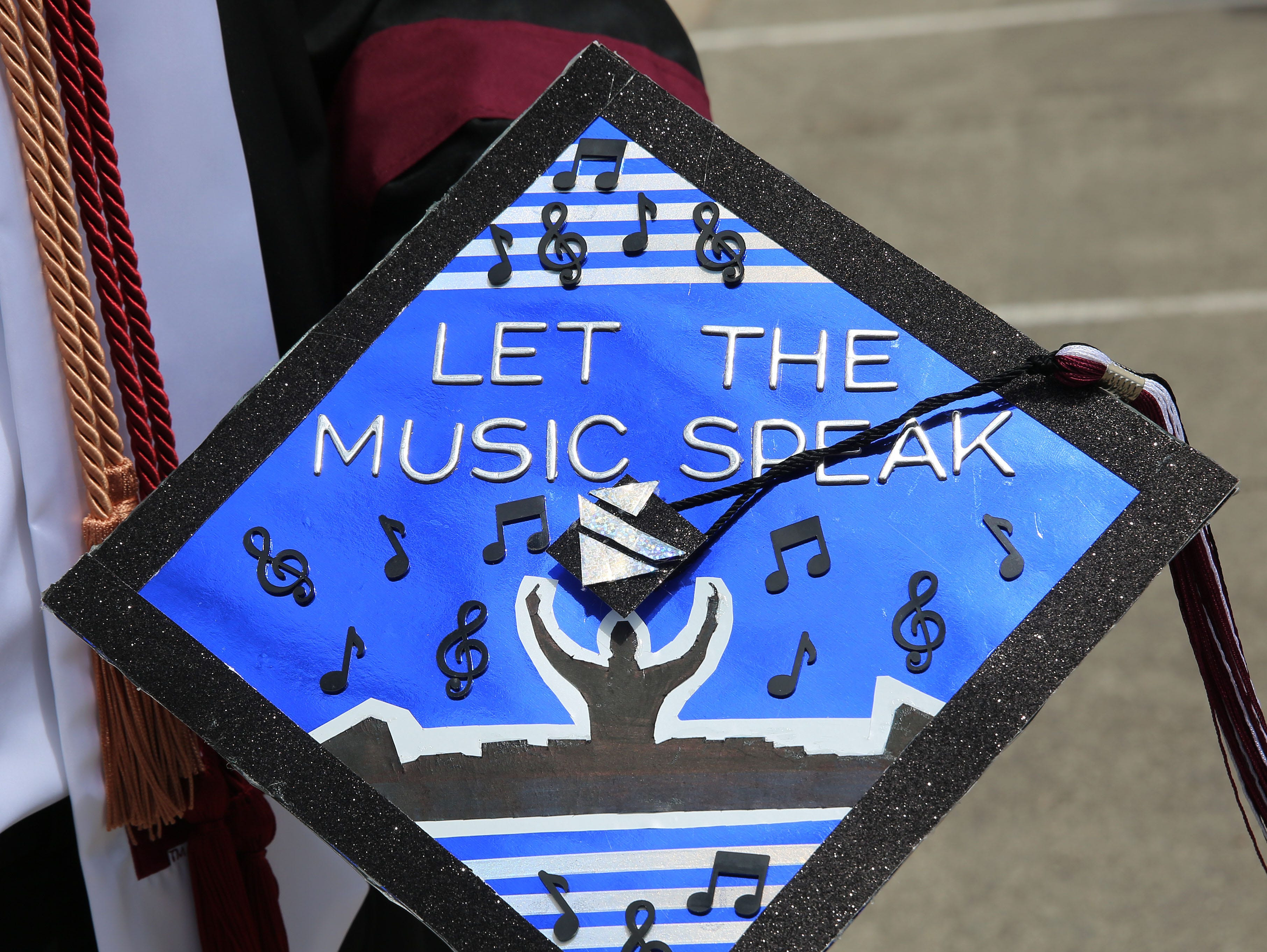 """Let the music speak,"" is a quote from one of Jorge Martinez' favorite musicians. He earned a Bachelor of Arts Degree in business administration, with a concentration in marketing, along with two minors in finance in advertising. Marketing has always been one of his passions, he said, and so has music. Martinez said he's striving towards a career in music marketing."