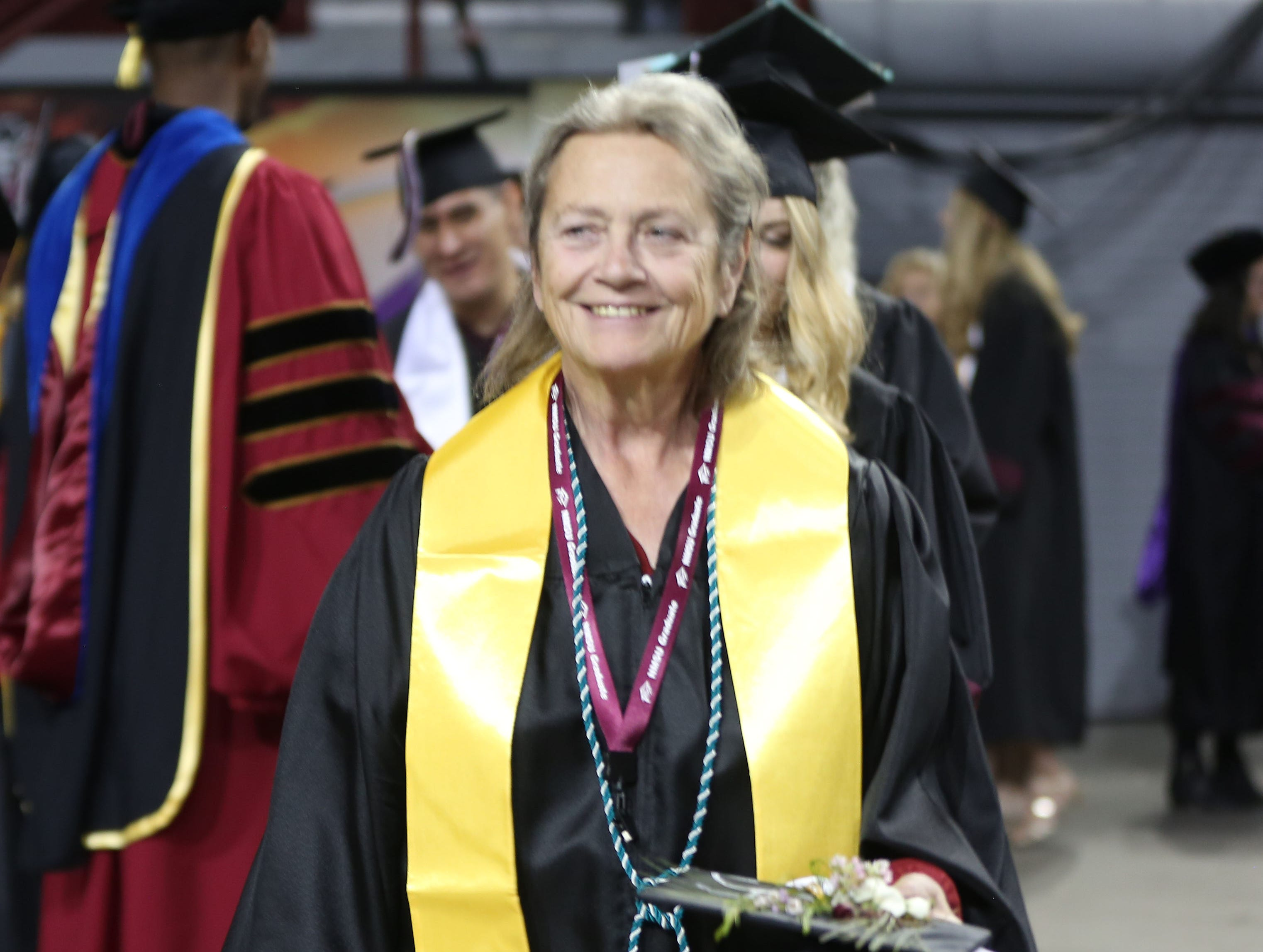 This year, 438 New Mexico State University students received their master's degree, during two commencement ceremonies on Saturday May 11, 2019.