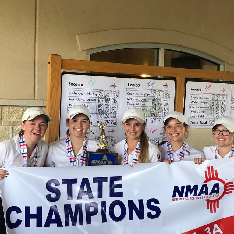 Mesilla Valley Christian girls win state golf title