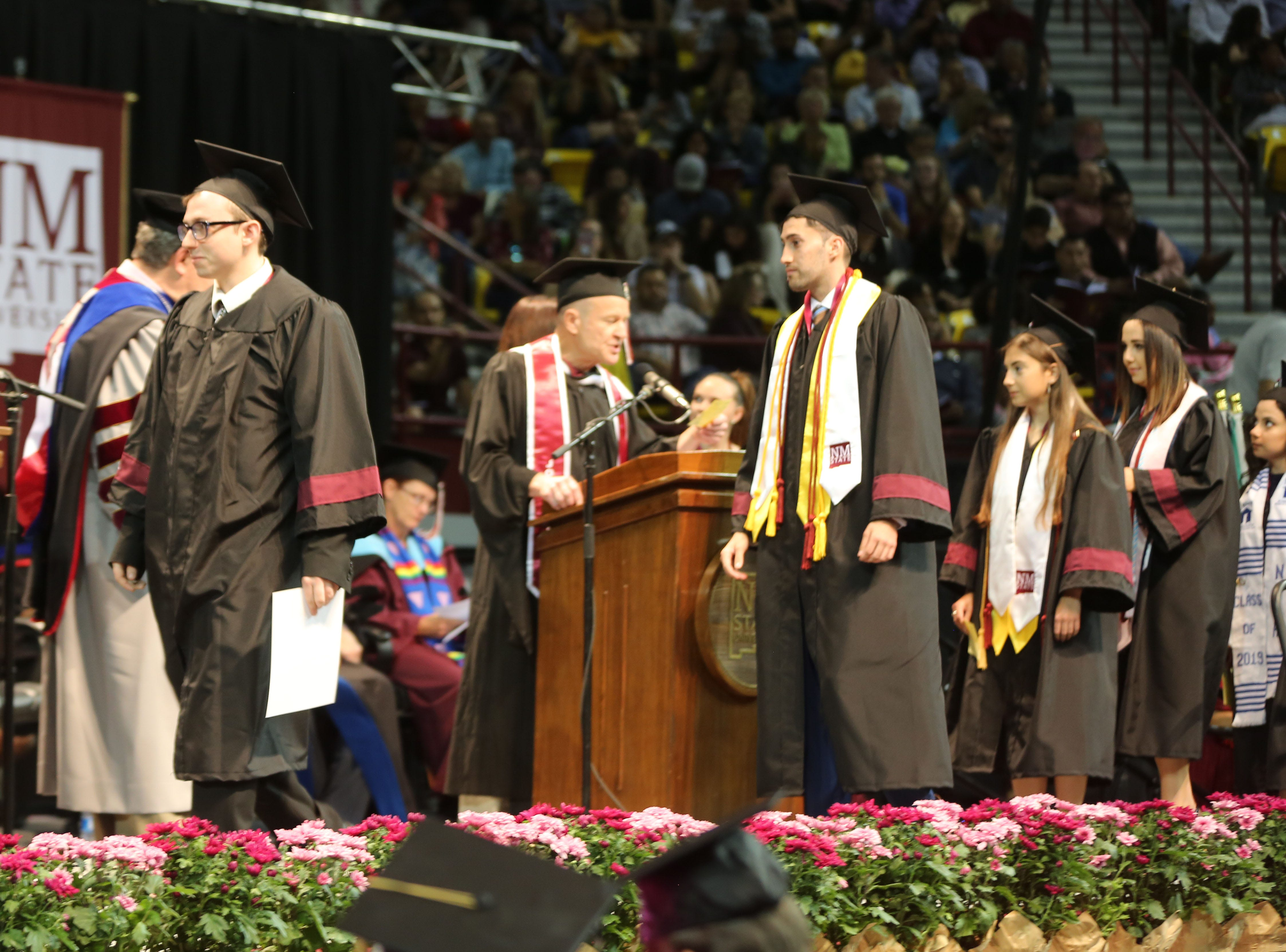 The Agricultural, Consumer and Environmental Sciences department, awarded 148 degrees this year. Students accepted their degrees Saturday May 11, 2019.