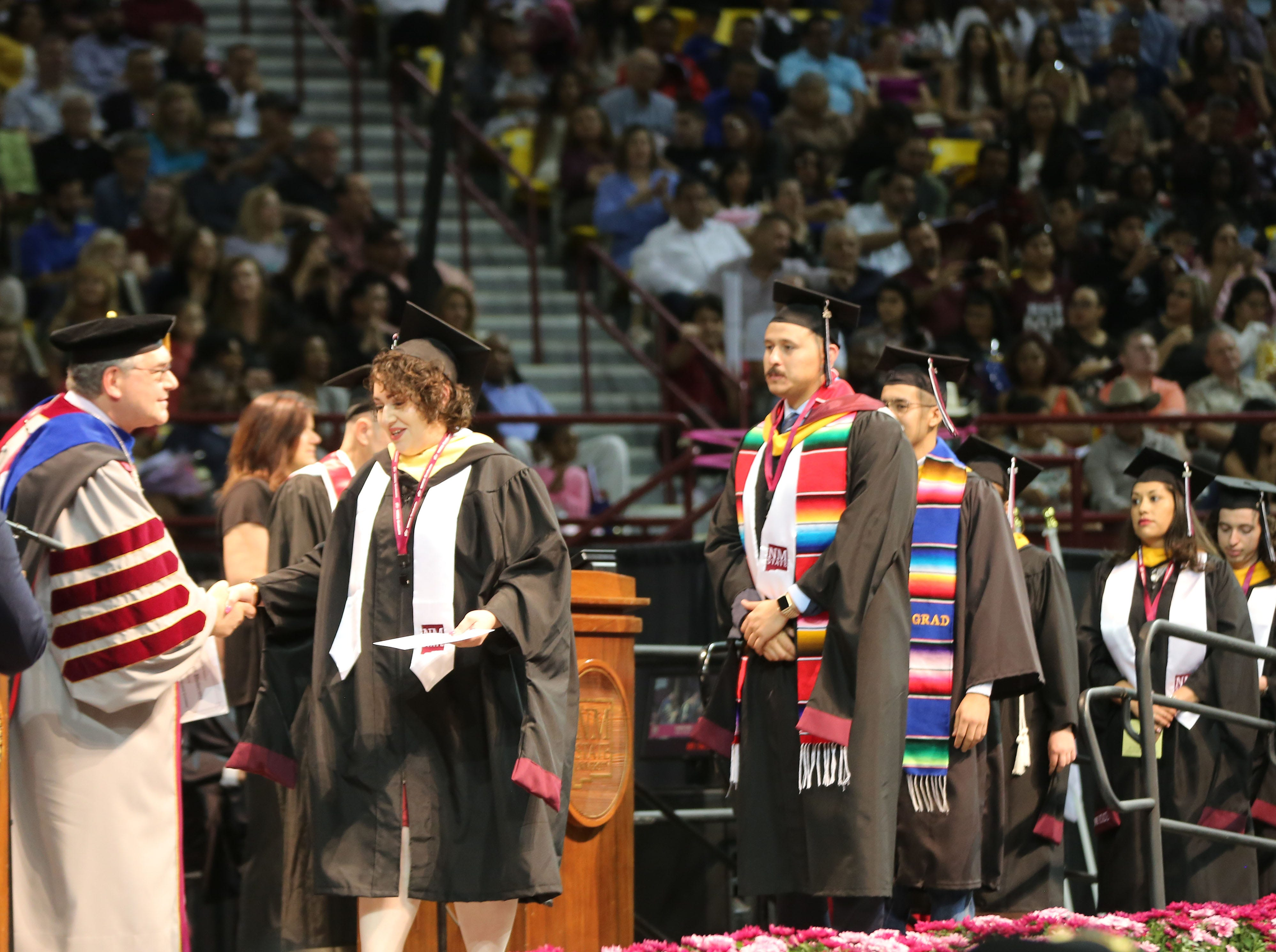 New Mexico State Universities Business College, awarded 202 degrees during commencement ceremonies Saturday May 11, 2019.