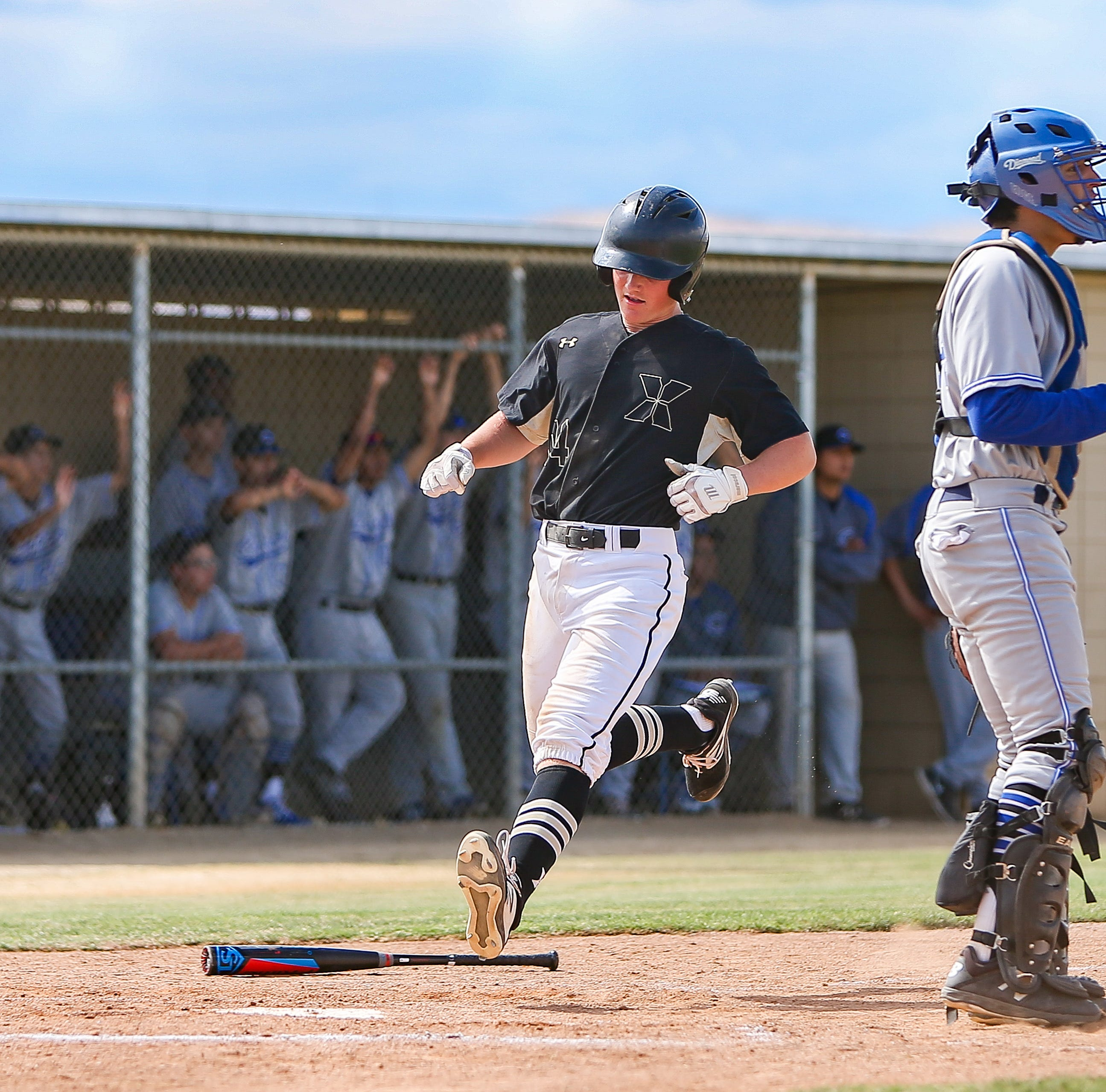 Saints still having fun! Xavier Prep baseball hangs on for tense quarterfinal victory